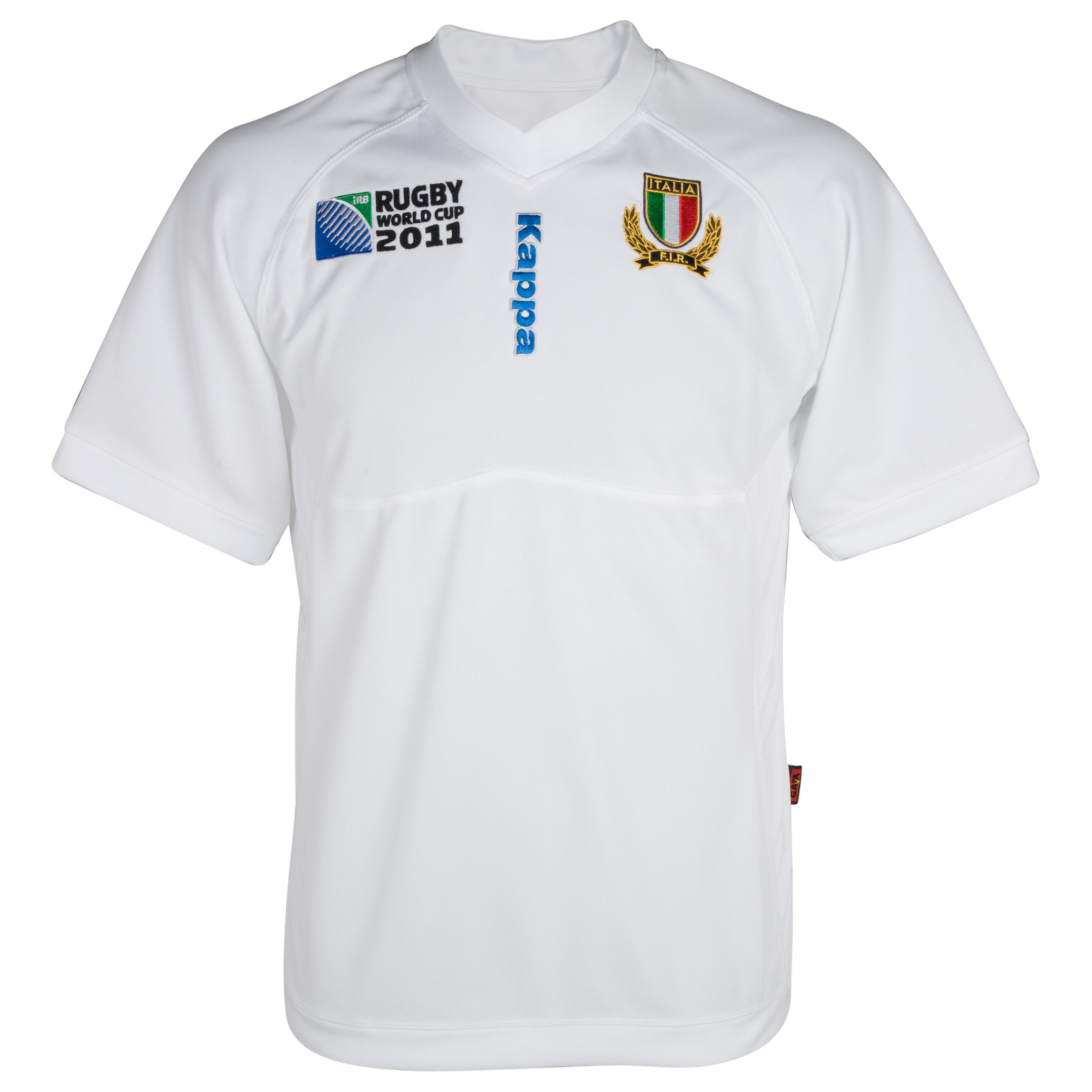 Italy Rugby World Cup Supporters Away Shirt 2011/12 - White. for 15€