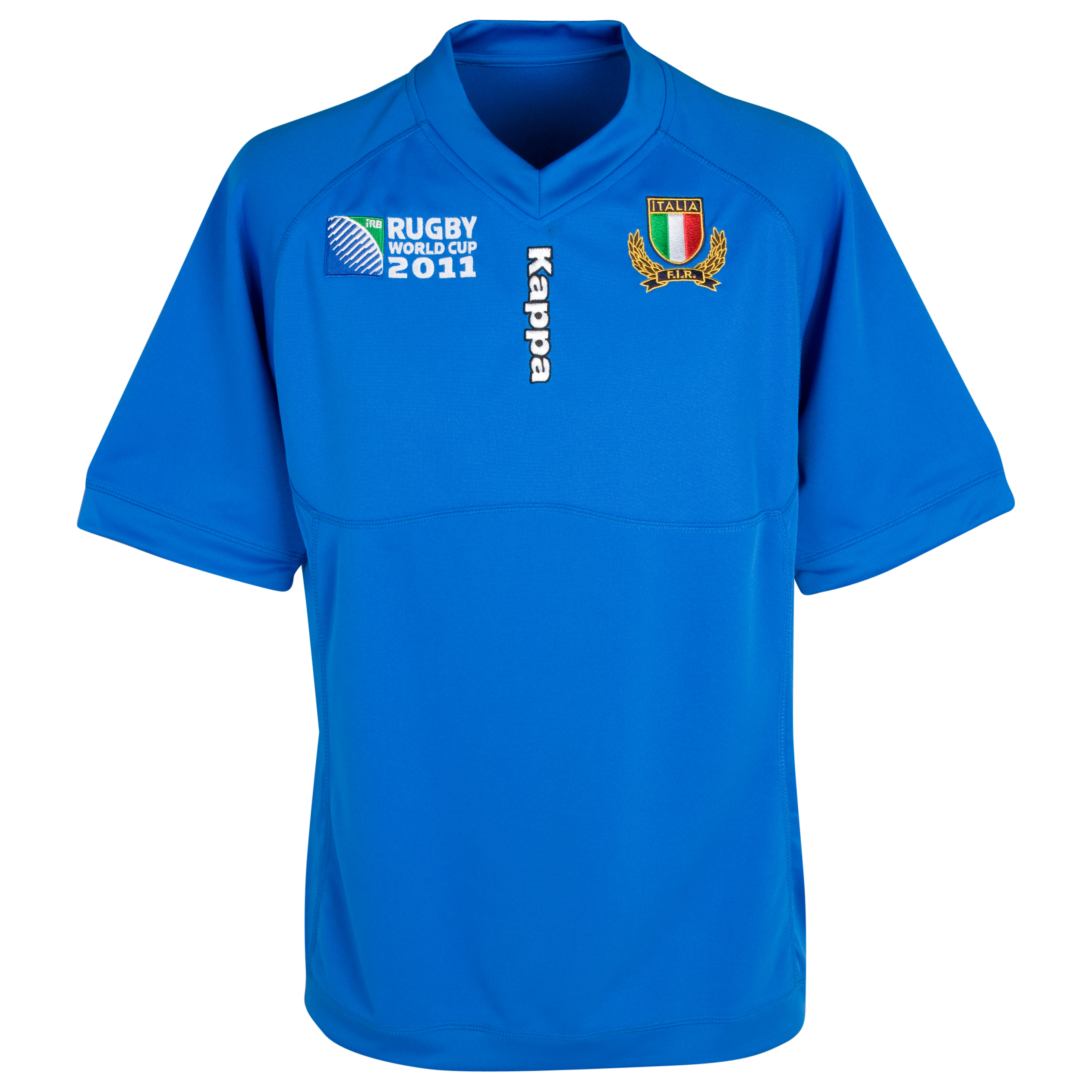Italy Rugby World Cup Supporters Home Shirt 2011/12 - Kids - Azzuri. for 10€