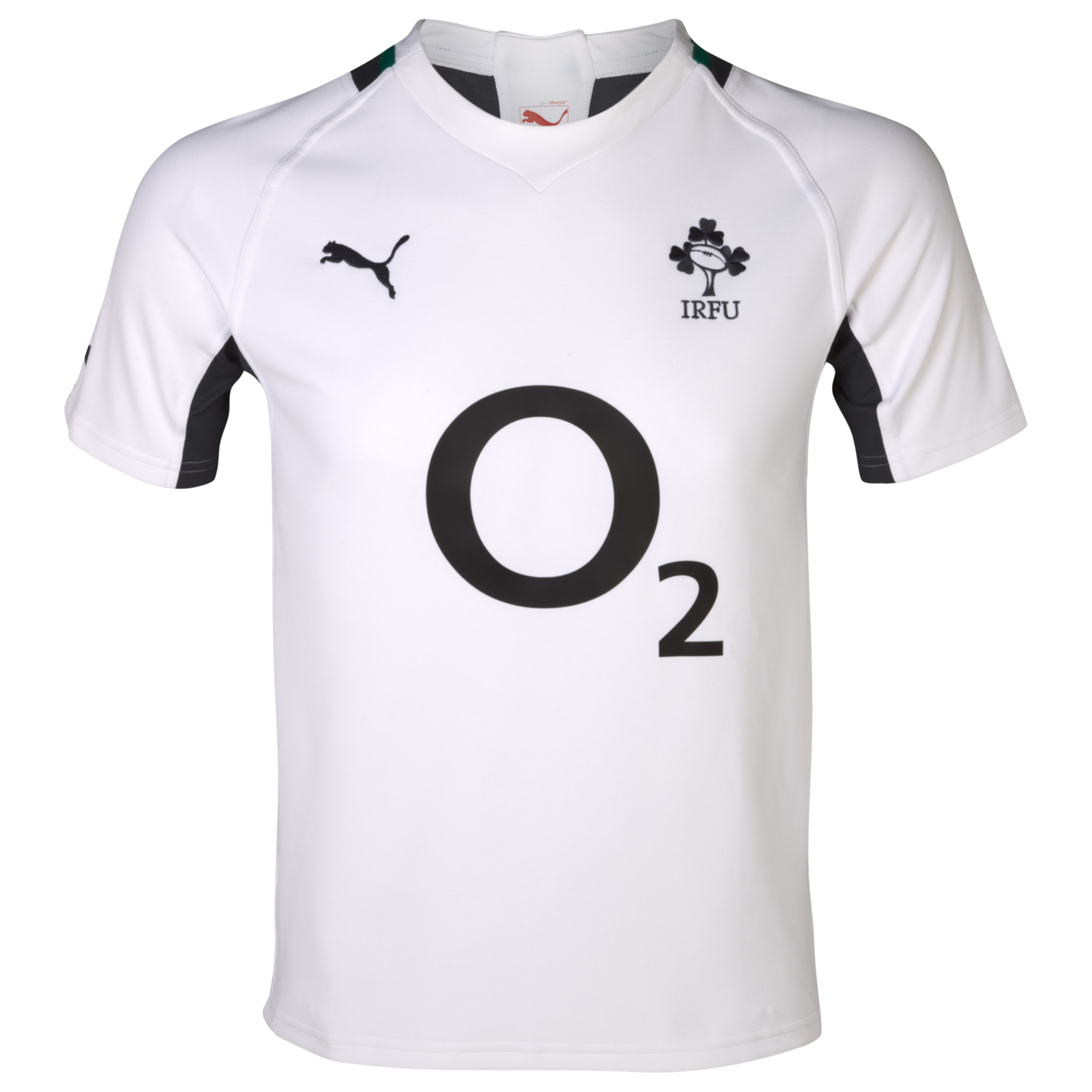 Ireland Rugby Training Jersey - White/Ebony