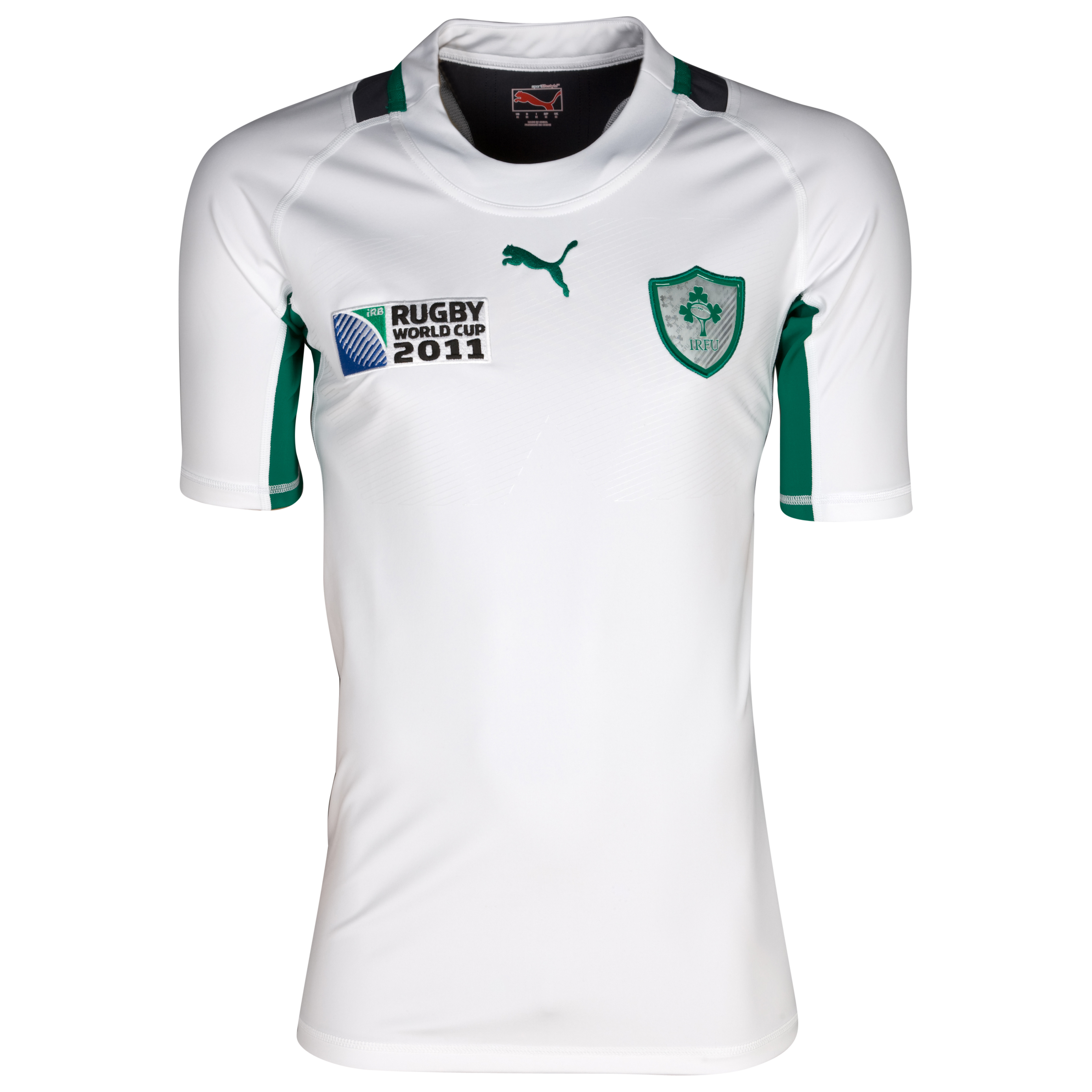 Ireland Rugby World Cup Authentic Alternative Shirt 2011/12 - White/Ebony. for 25€