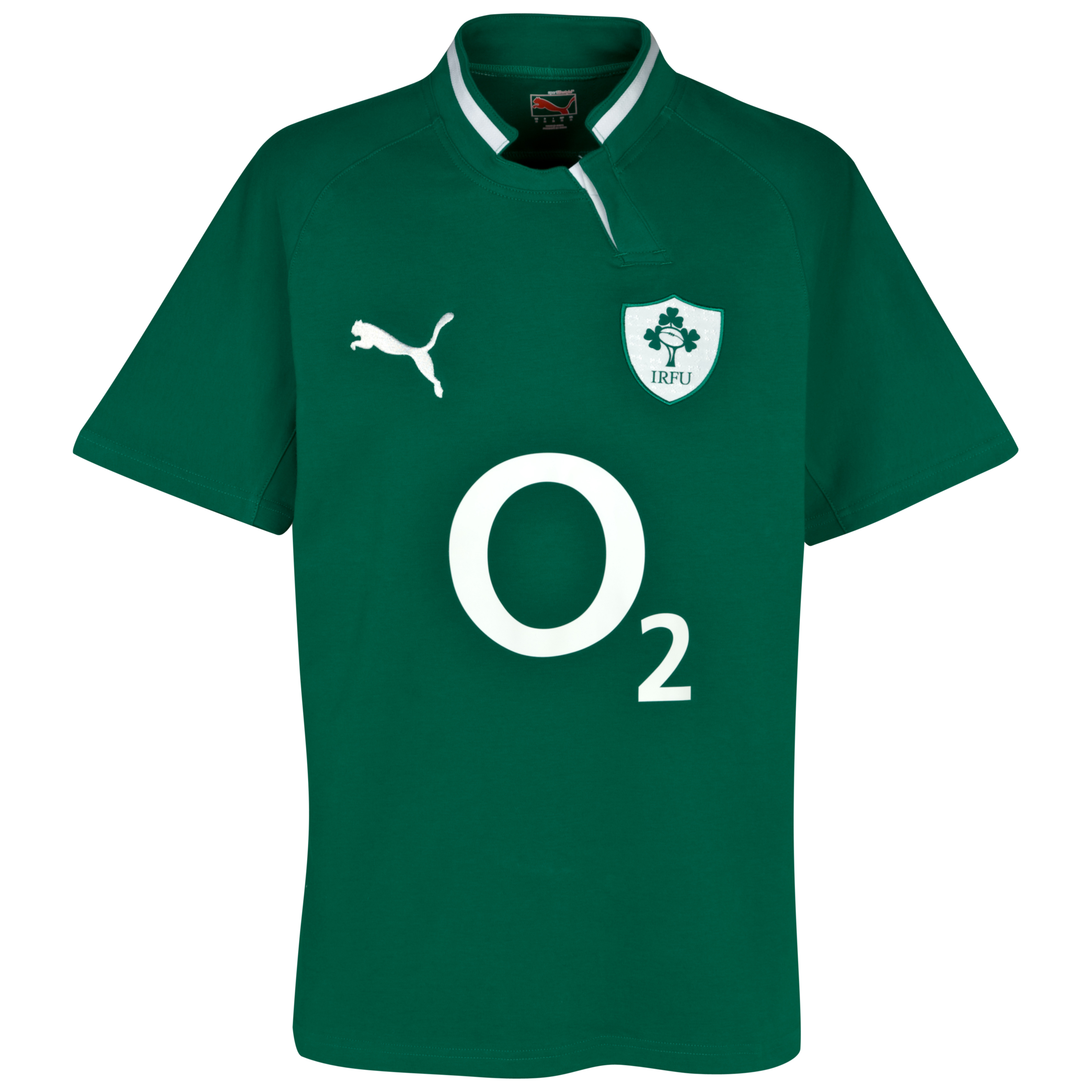 Ireland Rugby Cotton Home Shirt 2011/13 - Kids