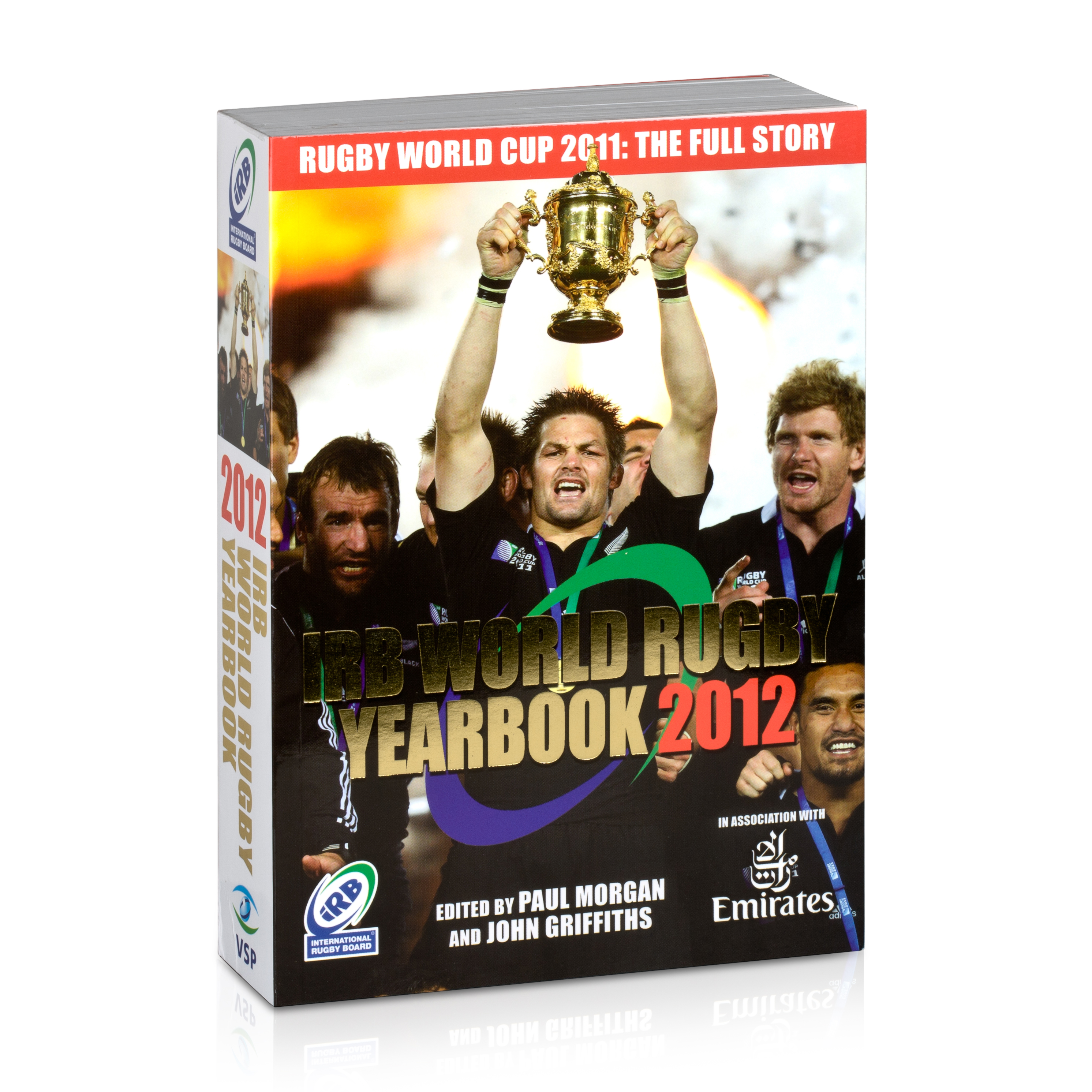 England IRB World Rugby Yearbook 2012 - Rugby World Cup 2011 Edition