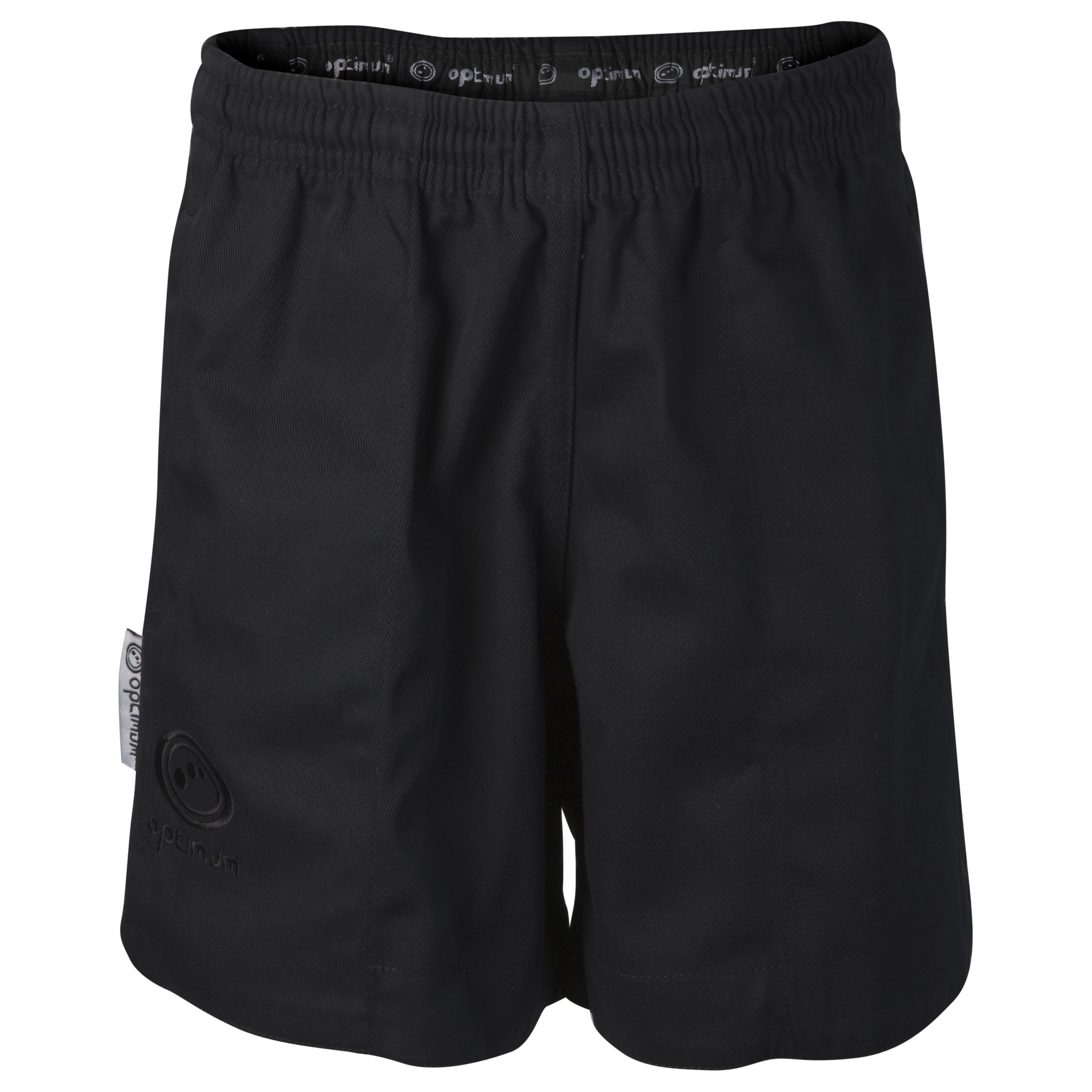 Optimum Auckland Rugby Shorts - Black/Blue - Kids