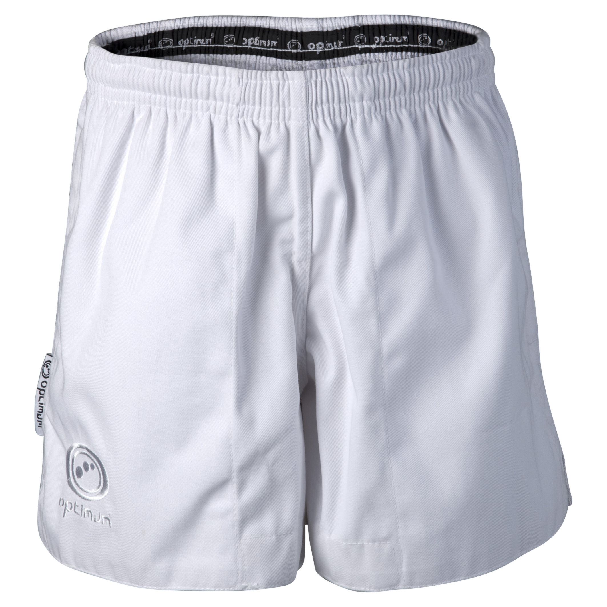 Optimum Auckland Rugby Shorts - White - Kids.