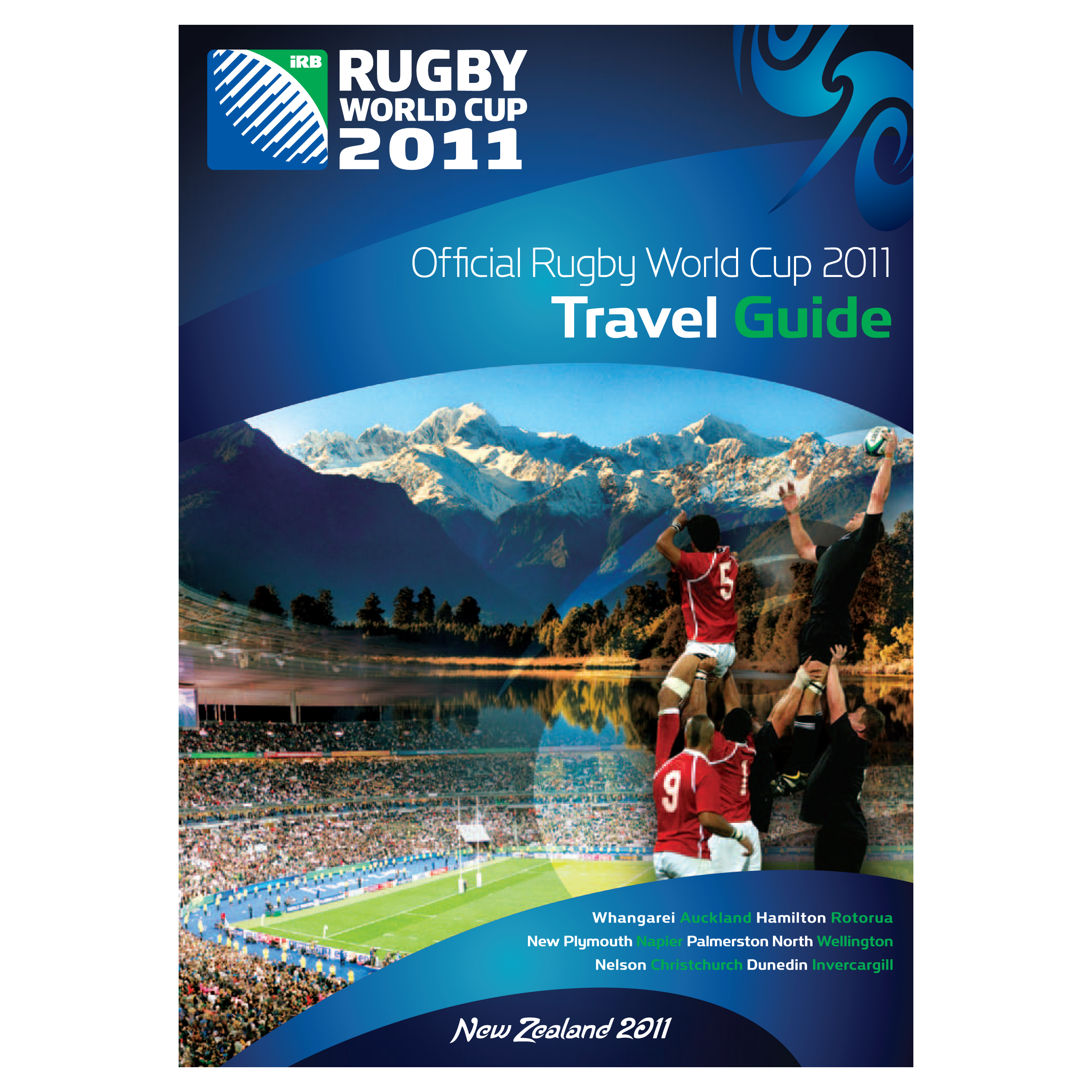 England Official Rugby World Cup 2011 Travel Guide