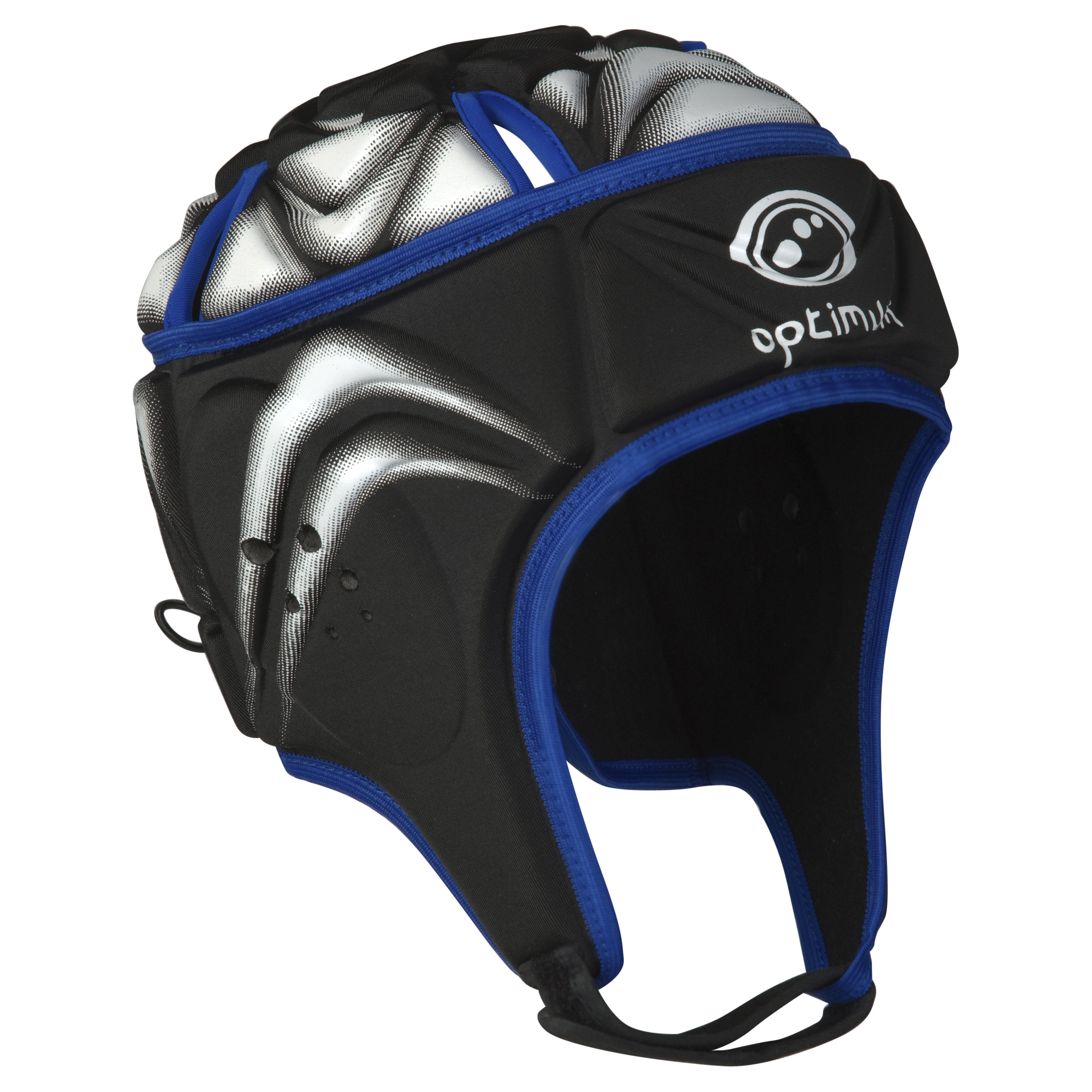 Optimum Blitz Extreme Headguard - Black/Blue/White - Boys