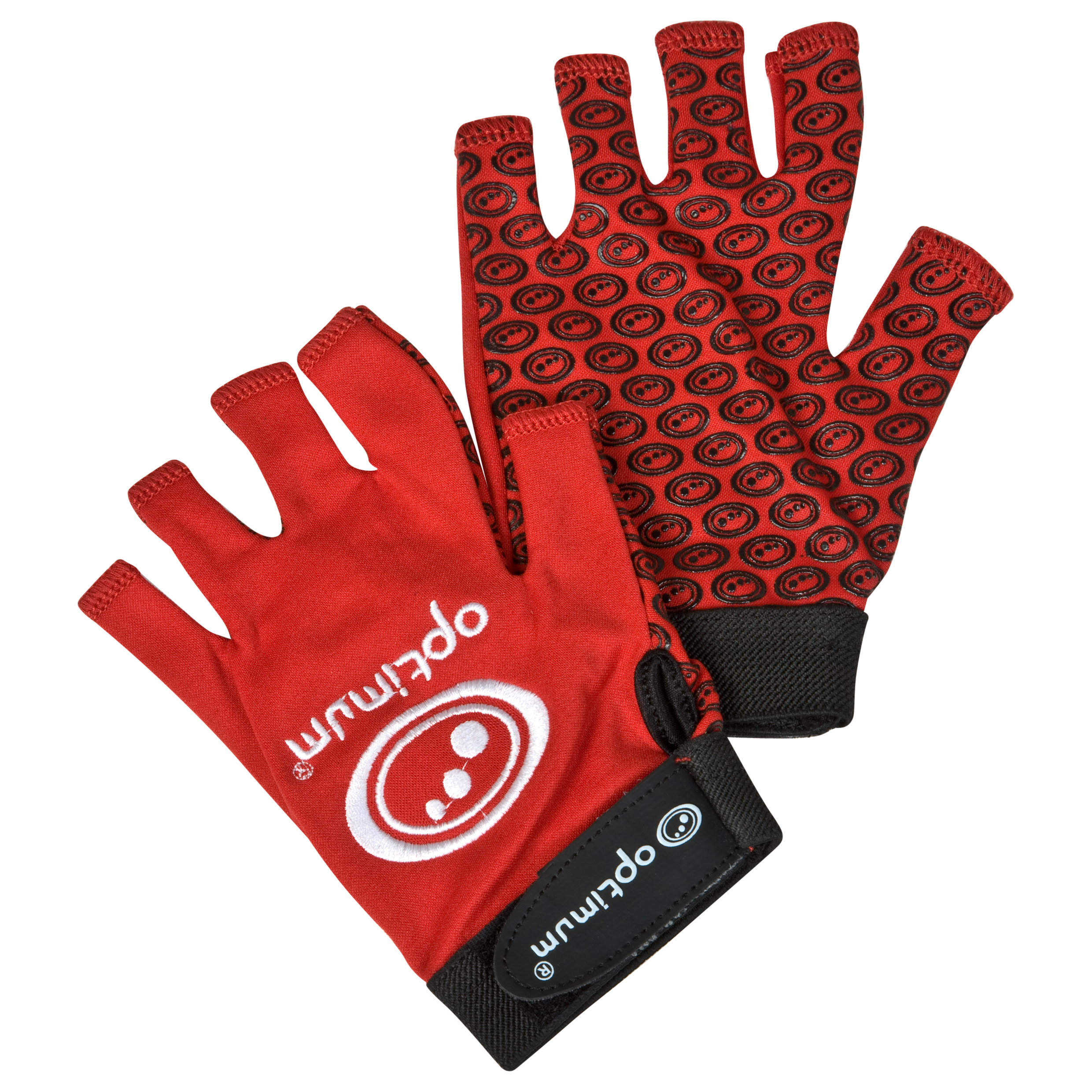 Optimum Stick Mitts - Red - Boys