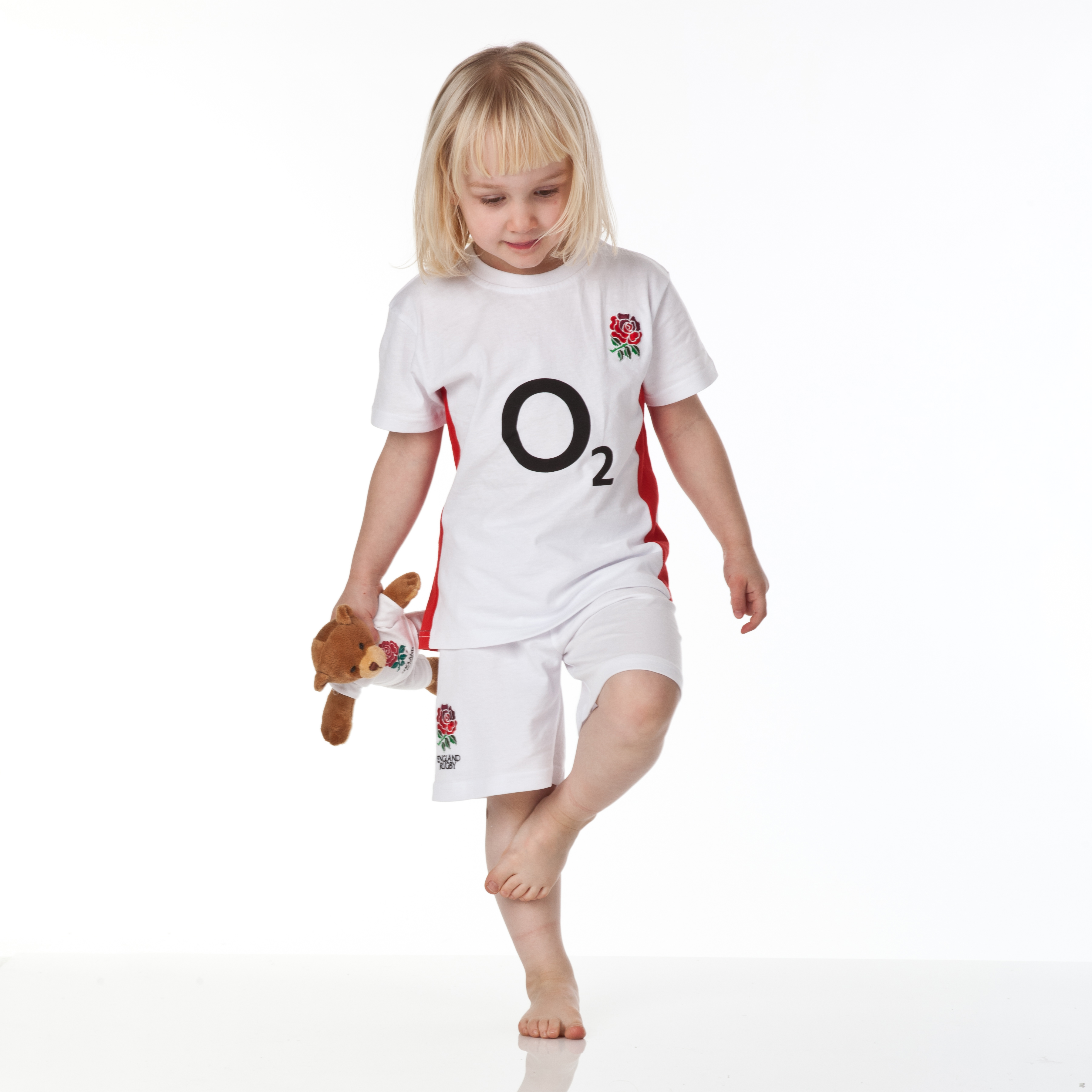 England Rugby Home Kit Pyjamas - Infants