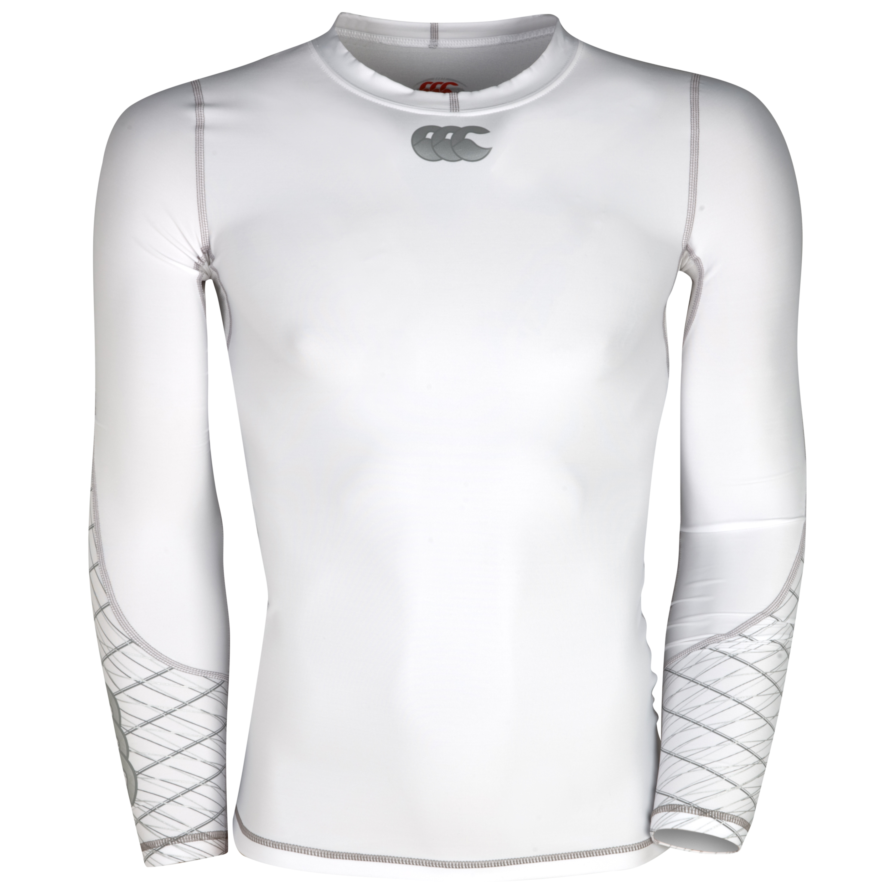 Canterbury Mercury Hybrid Compression Top - White
