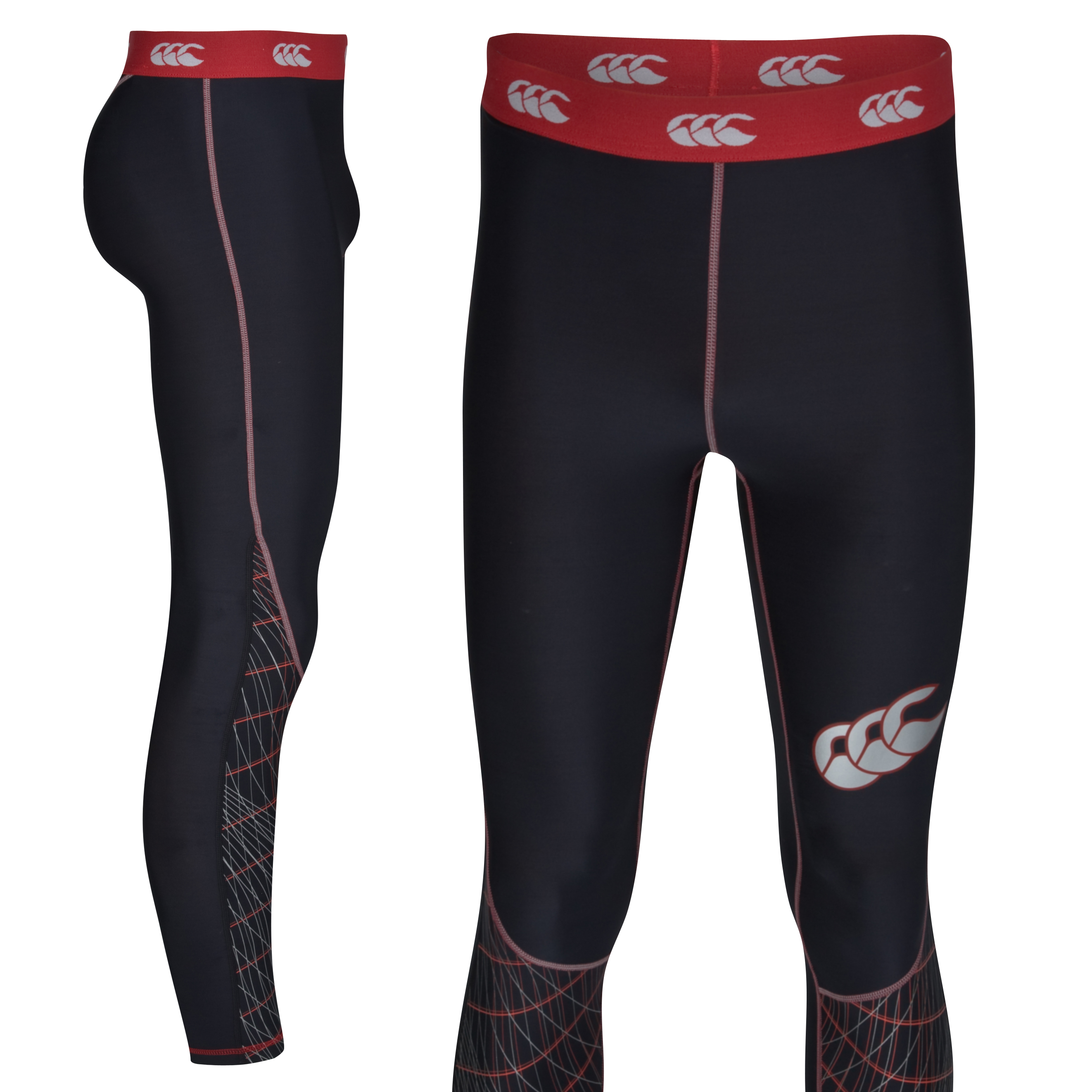 Canterbury Mercury Hybrid Compression Legging - Black