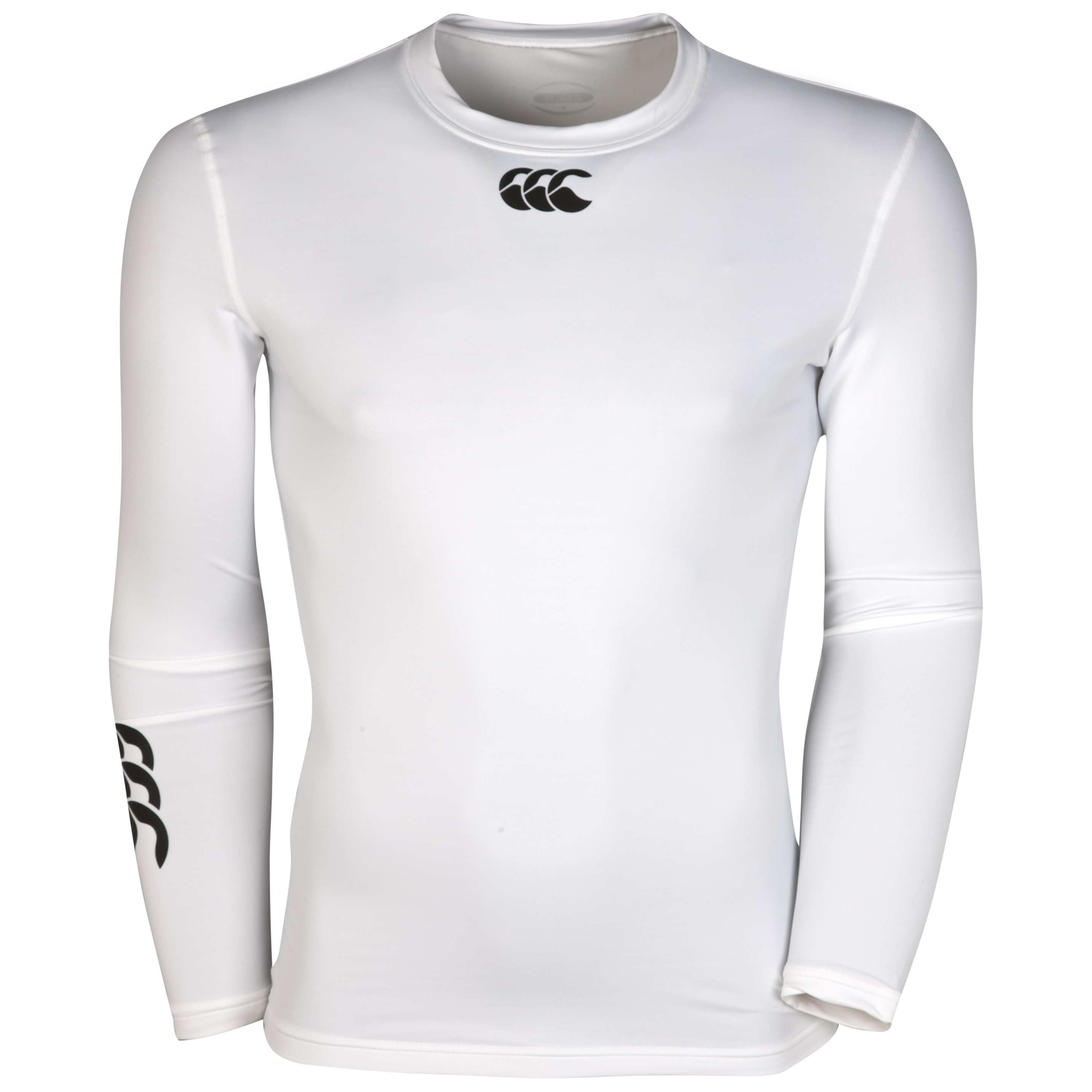 Canterbury Cold Long Sleeve Baselayer Top - White