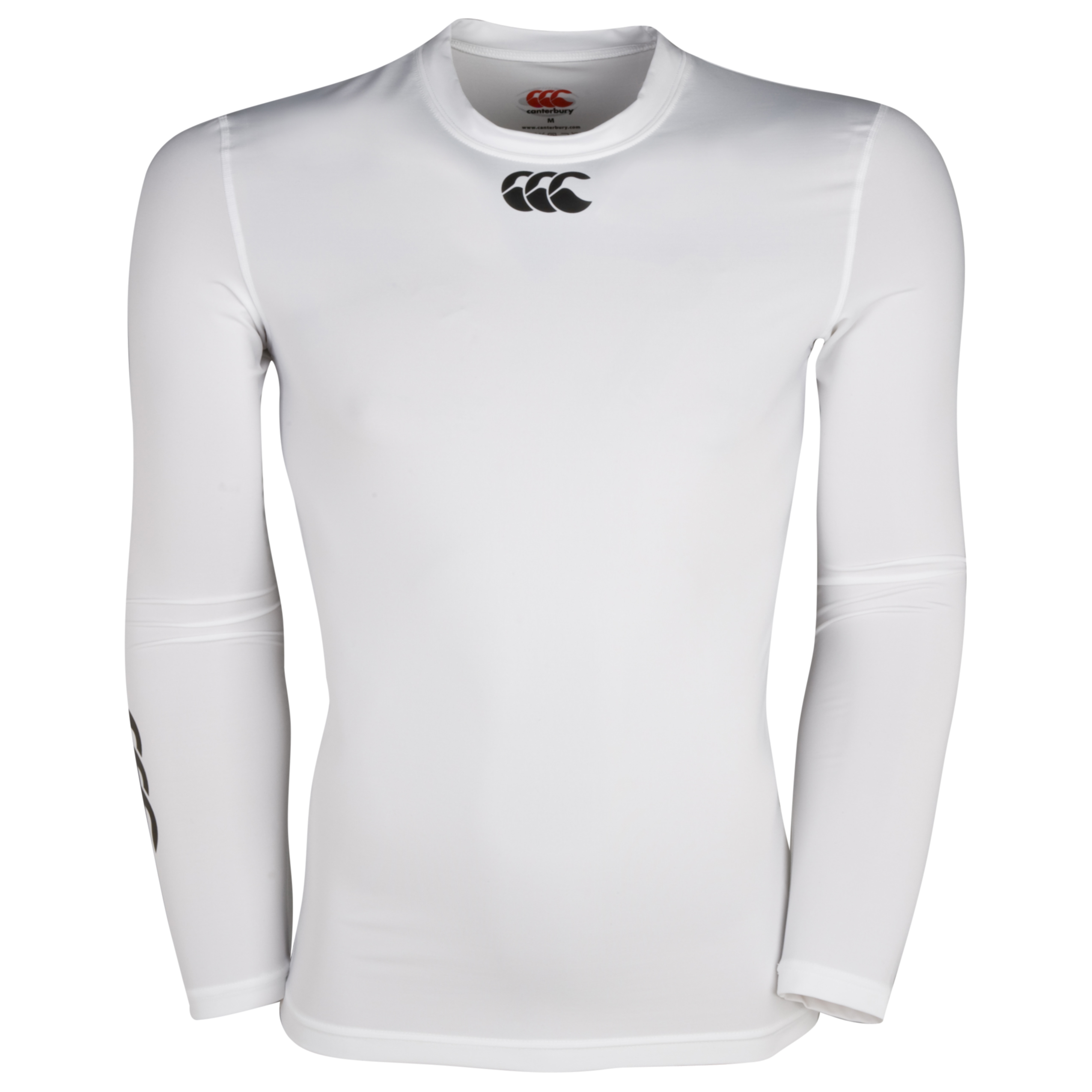 Canterbury Hot Long Sleeve Baselayer Top - White