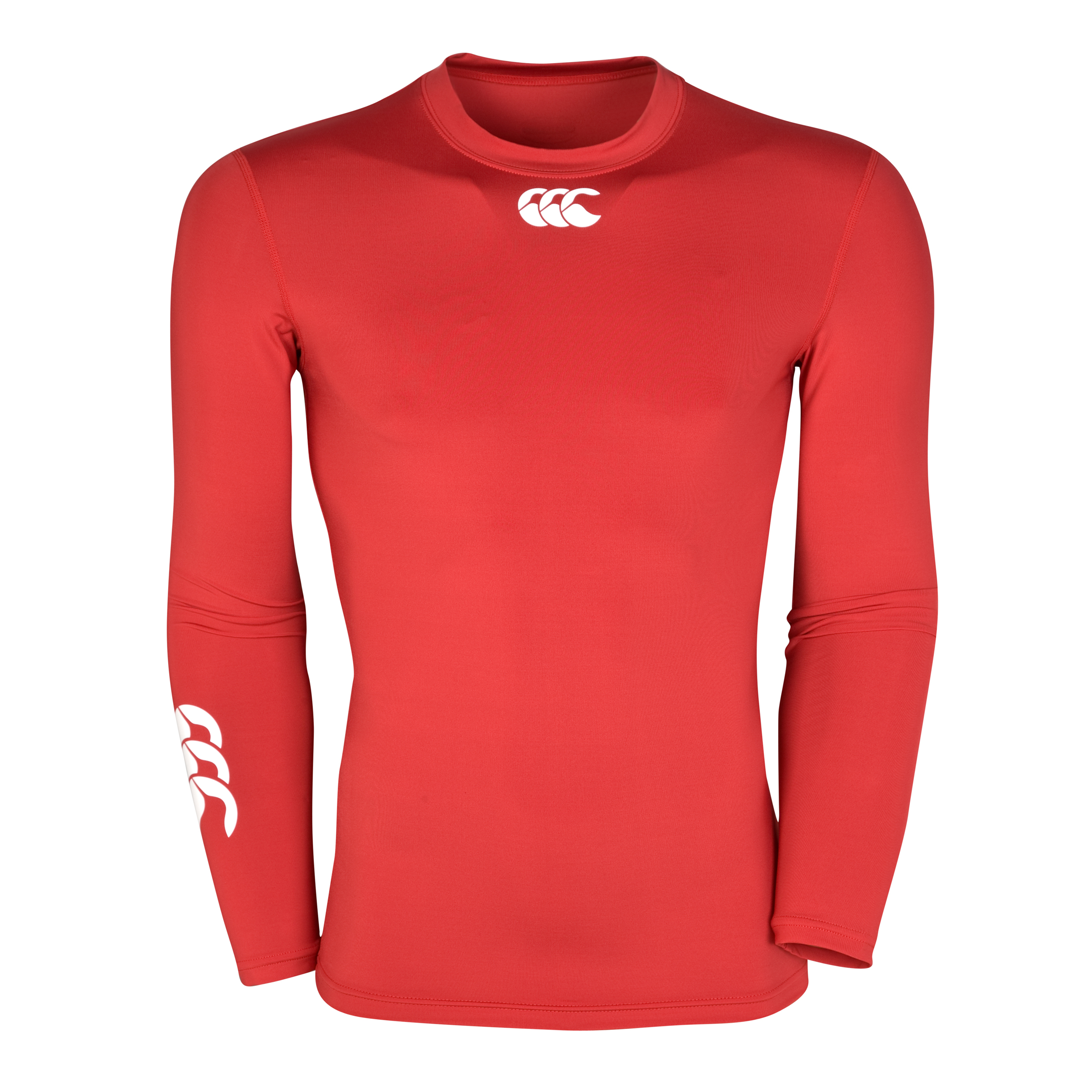 Canterbury Hot Long Sleeve Baselayer Top - Red
