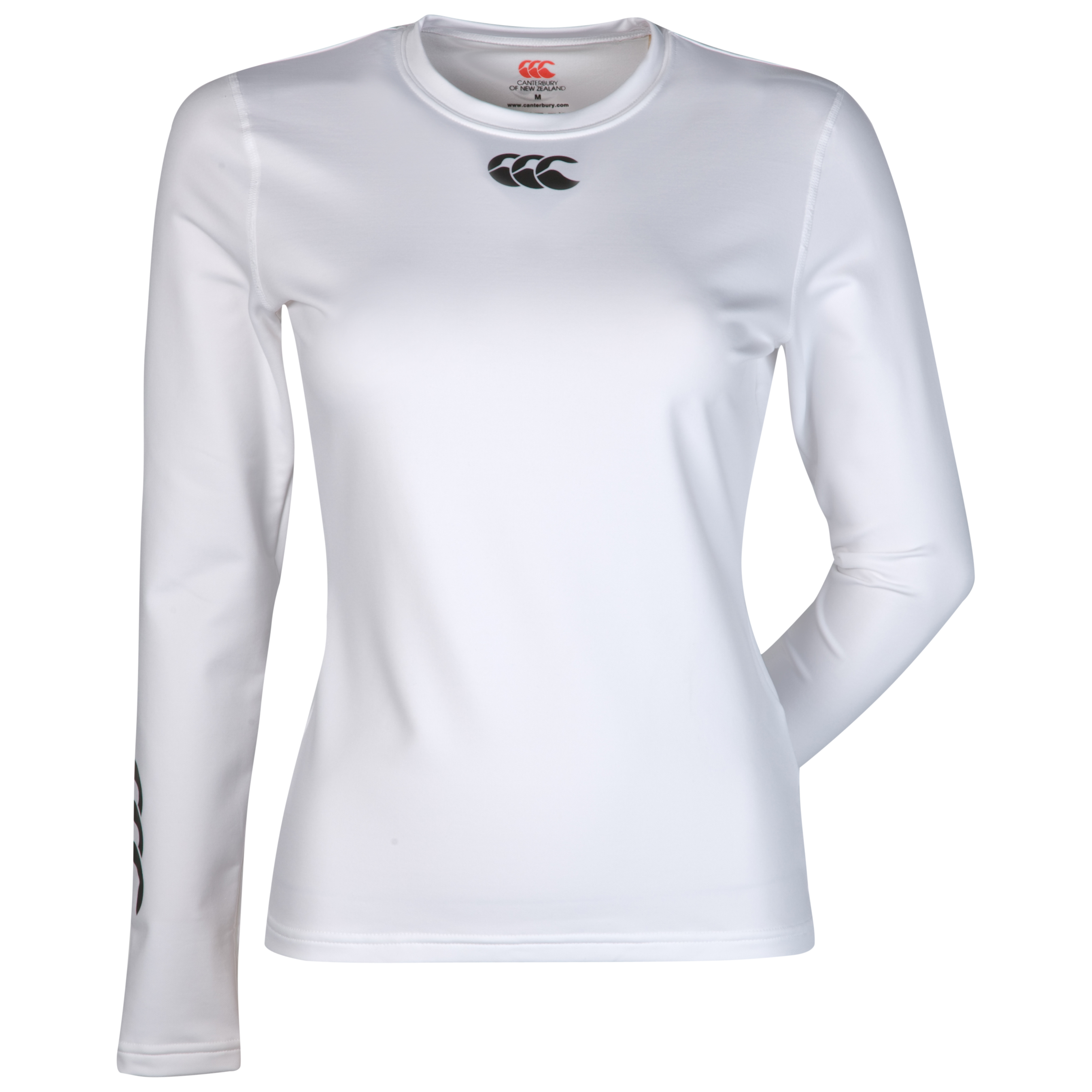 Canterbury Cold Long Sleeve Baselayer Top - Womens - White