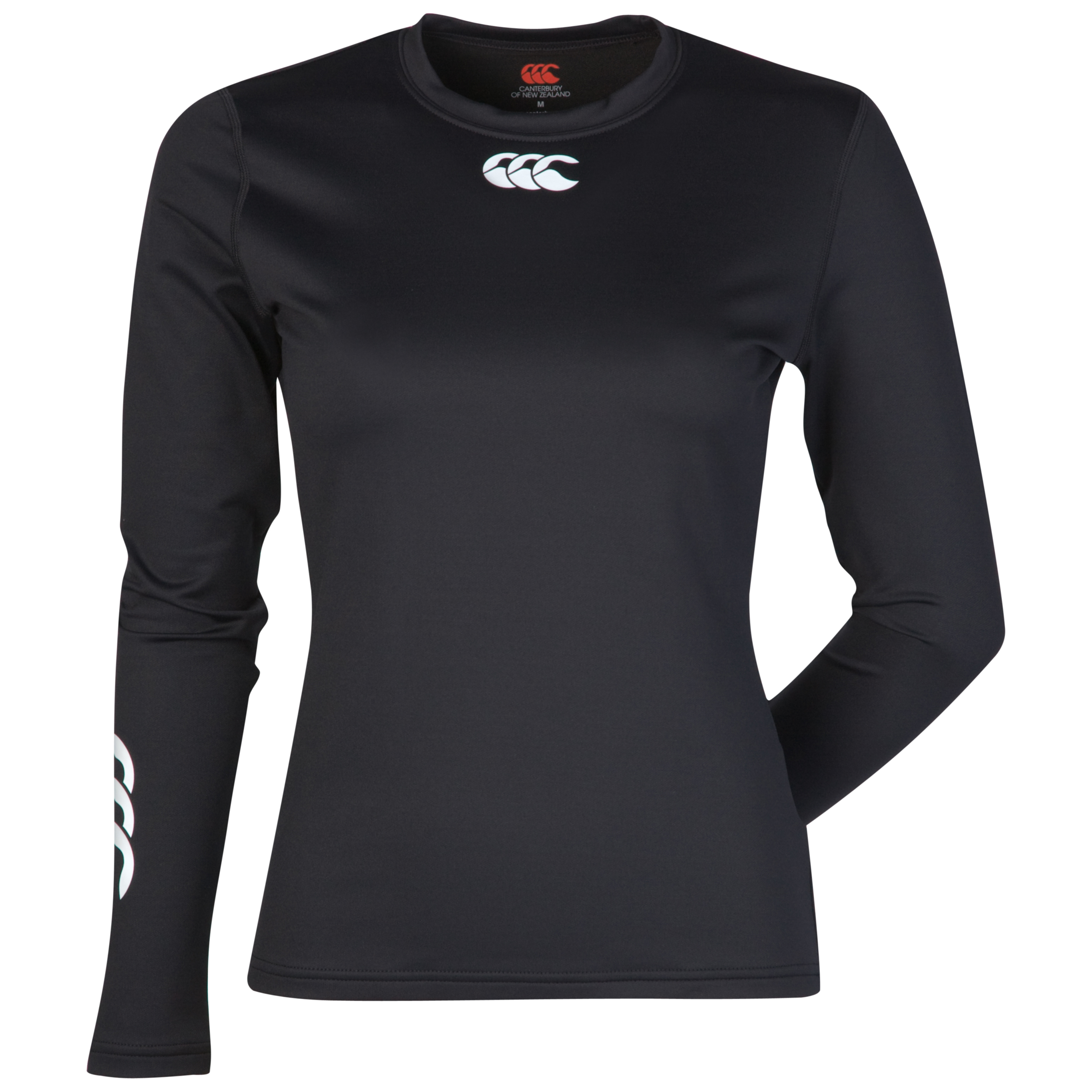 Canterbury Cold Long Sleeve Baselayer Top - Womens - Black