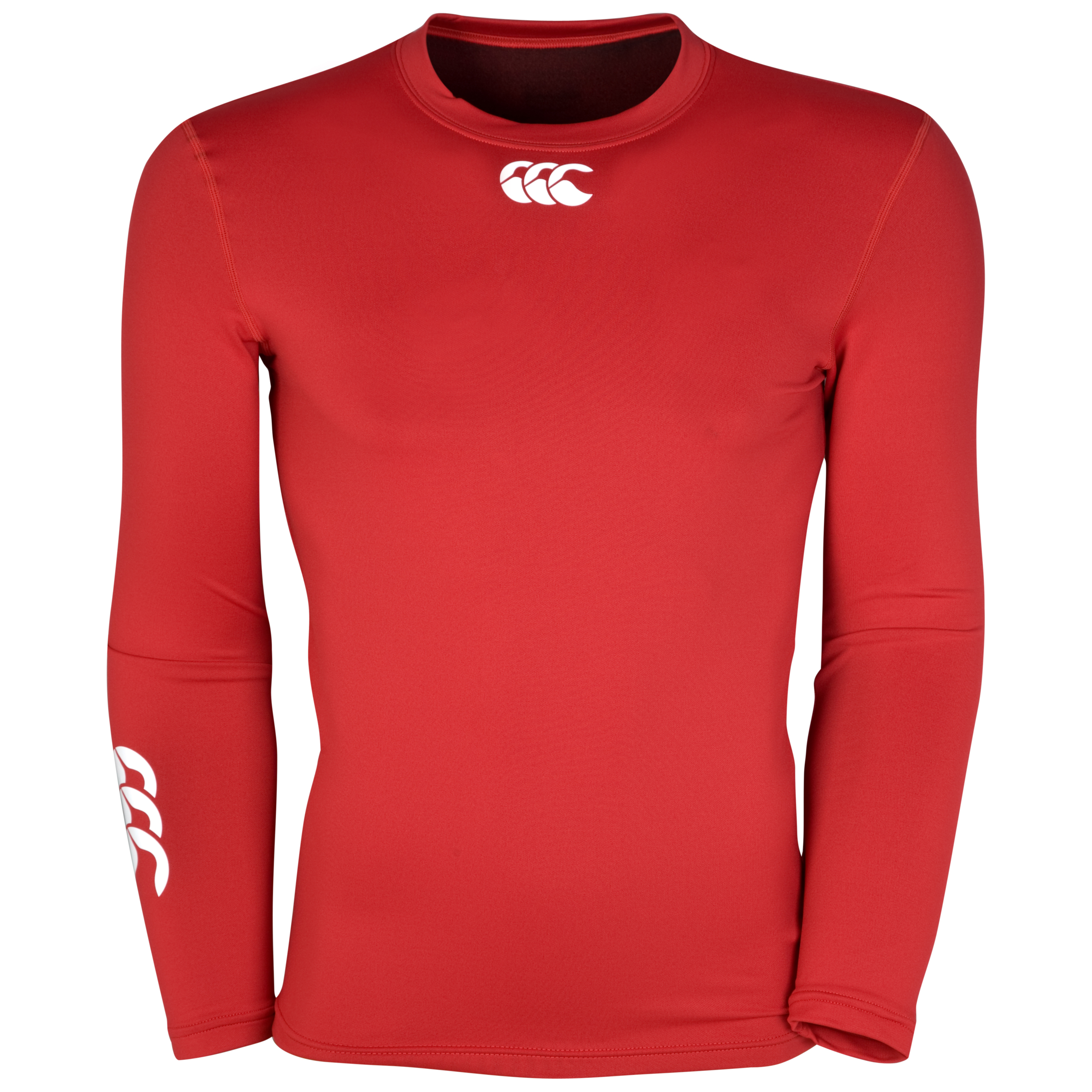 Canterbury Cold Long Sleeve Baselayer Top - Kids - Red
