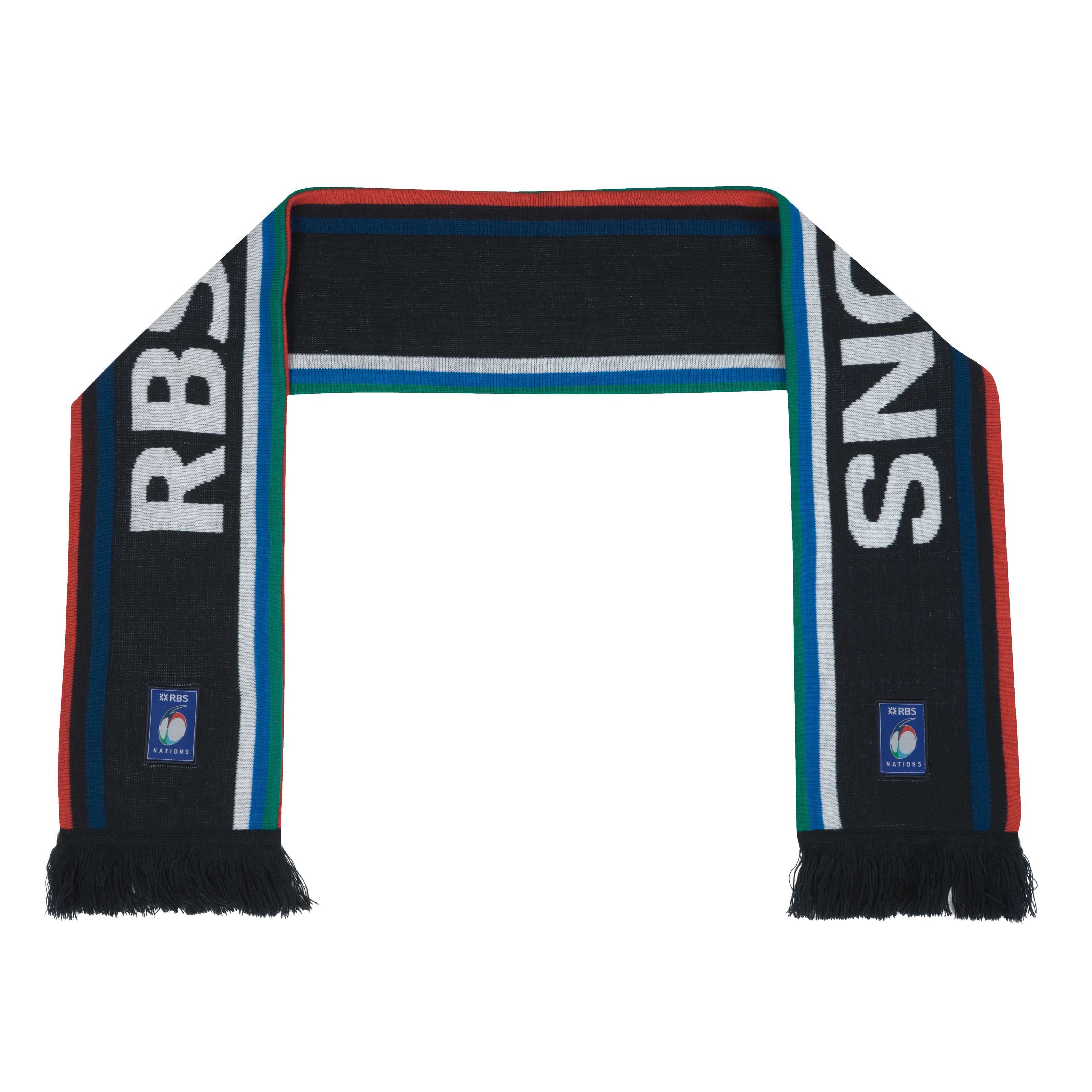 RBS 6 Nations Jacquard Scarf. for 5€