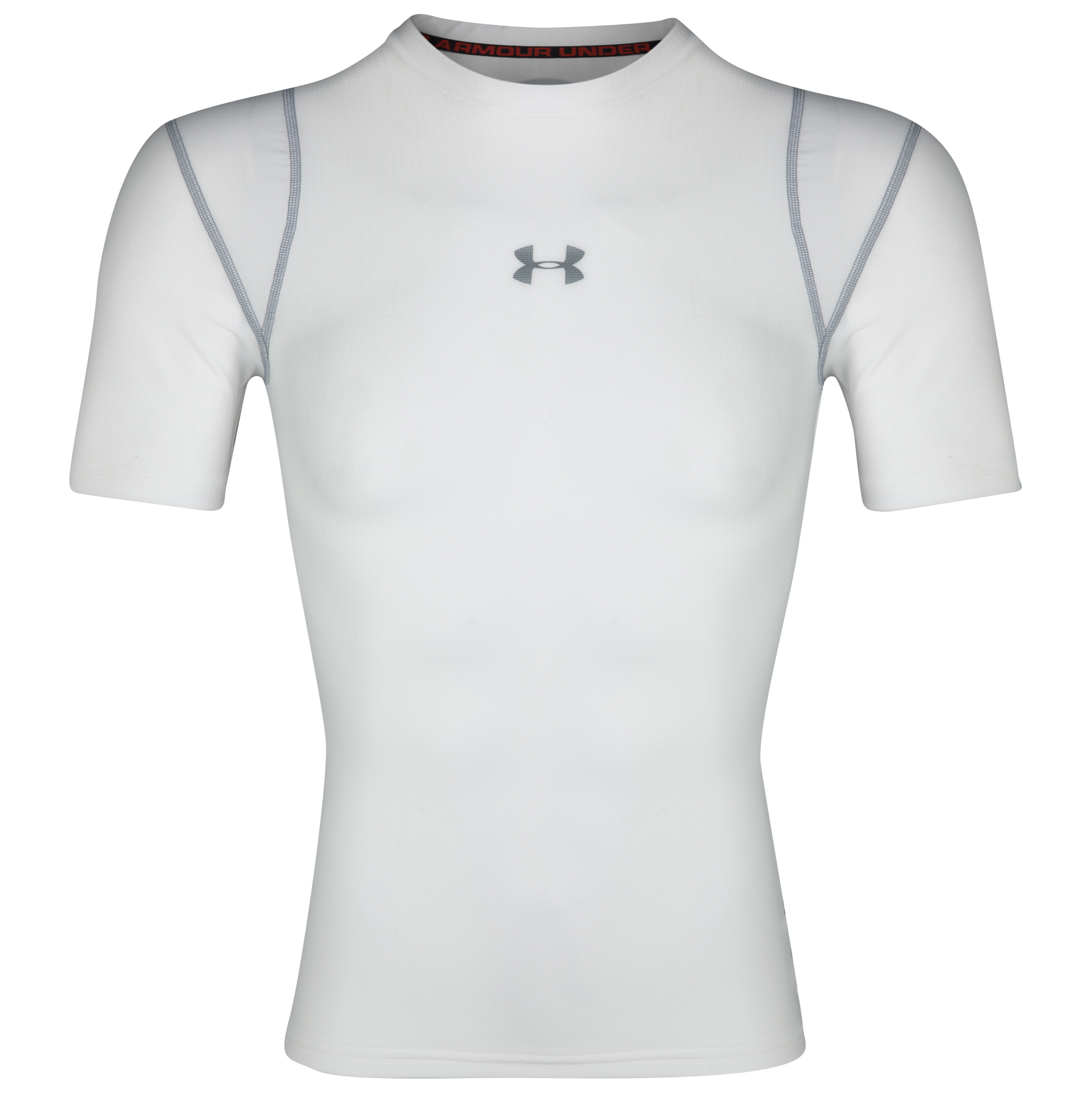 Under Armour Charged Cotton T-Shirt - White/Aluminium