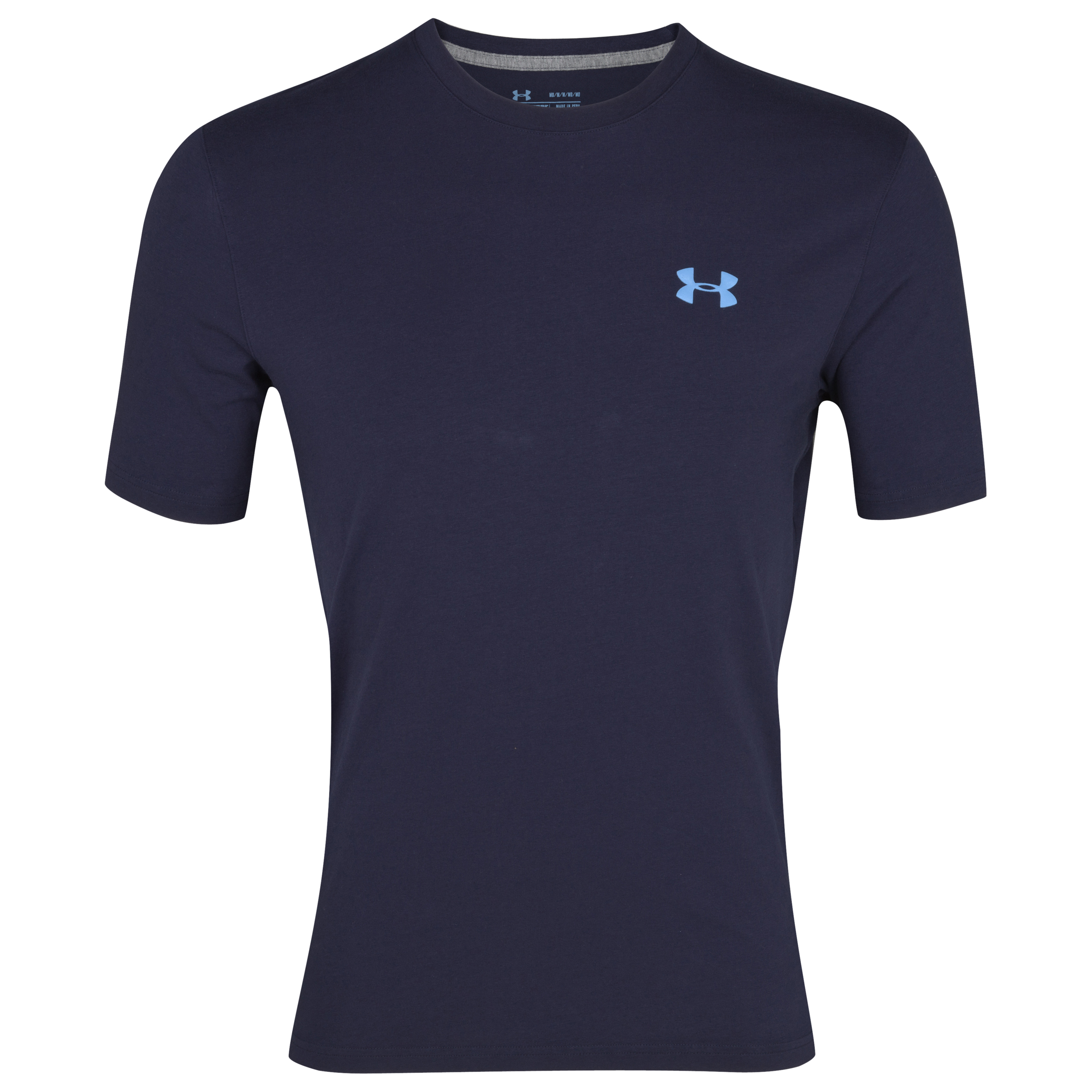 Under Armour Charged Cotton T-Shirt - Midnight Navy/Carolina Blue