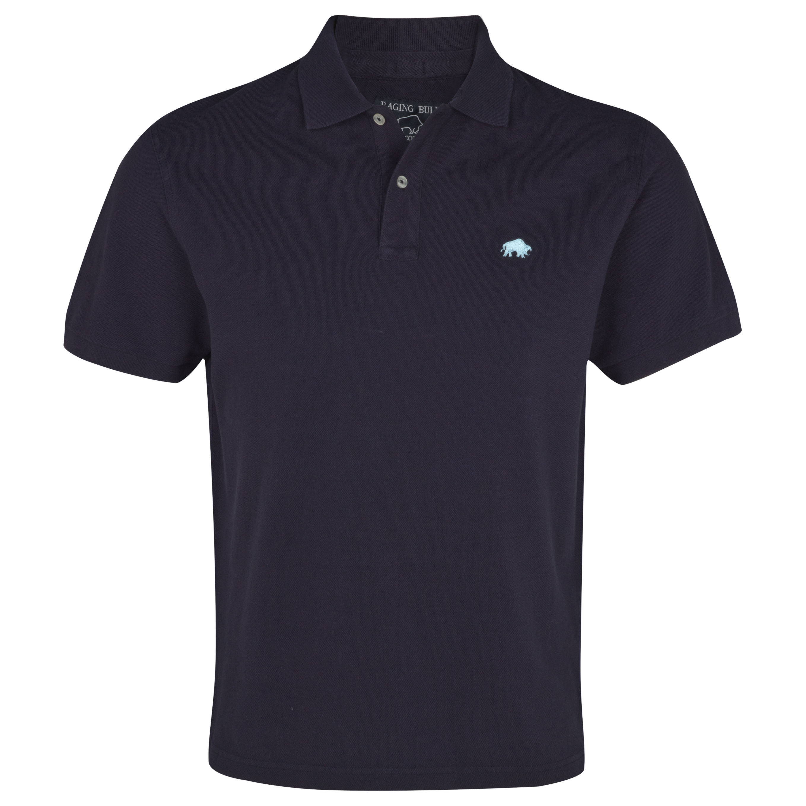Raging Bull Signature Pique Polo - Navy. for 25€