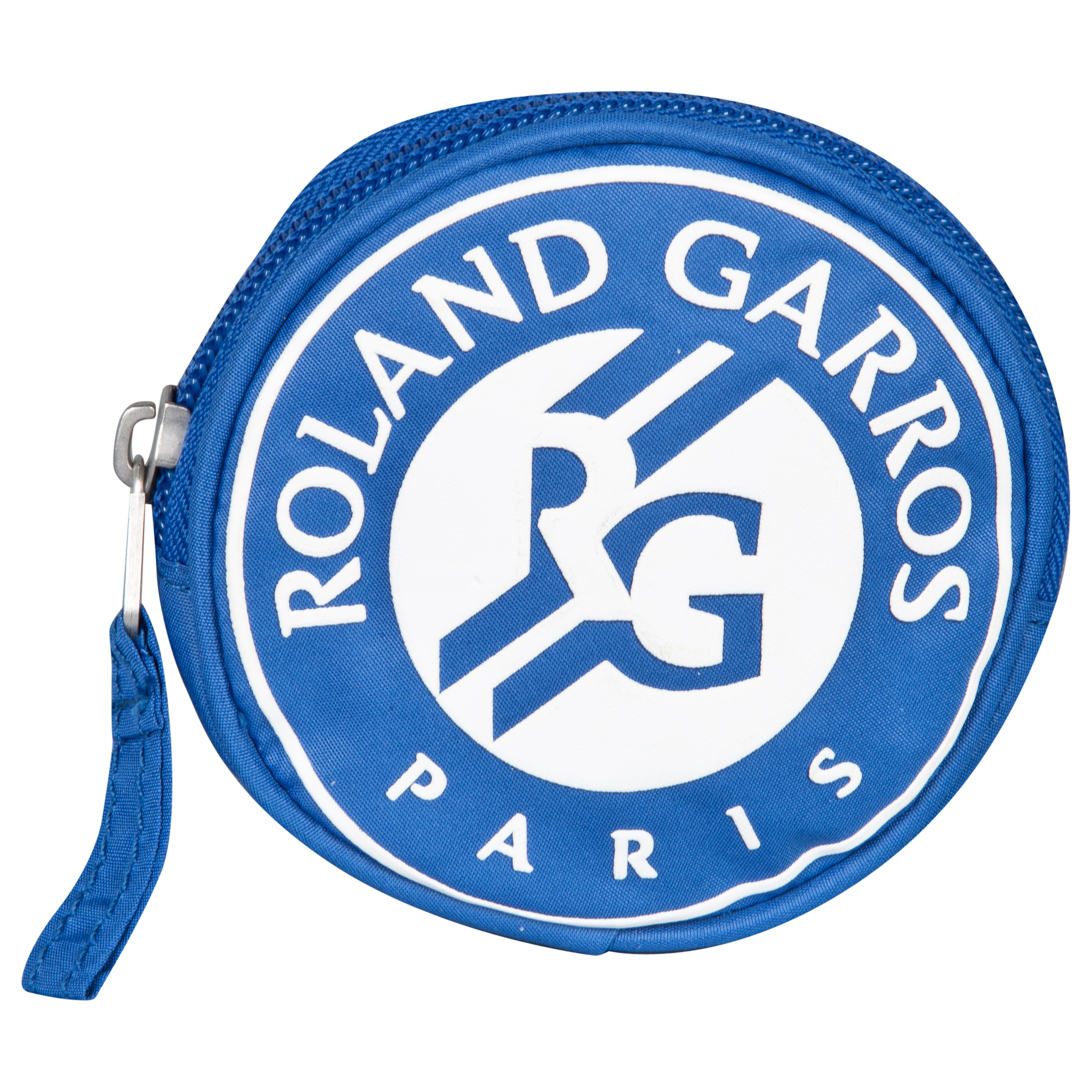 Roland-Garros Round Zip Purse - Blue - One Size