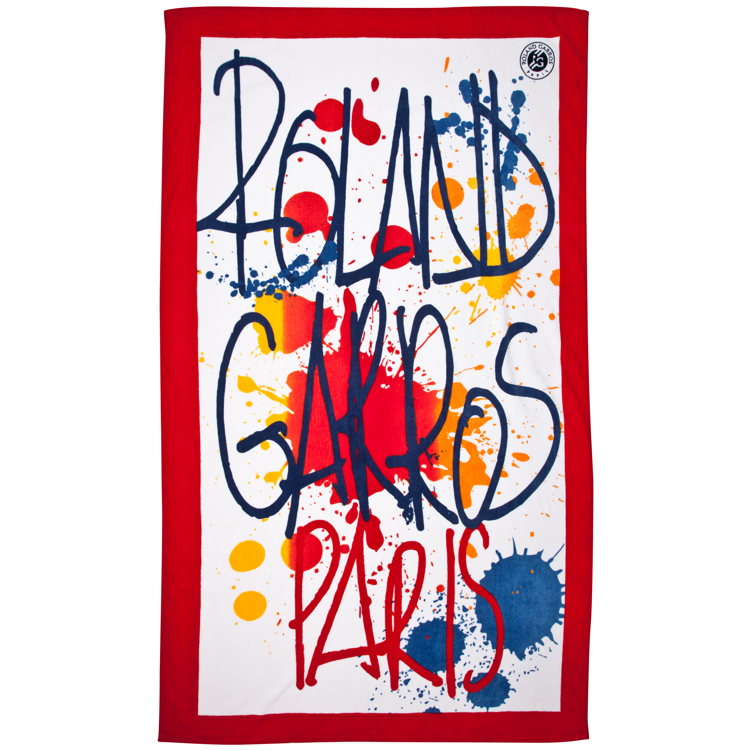 Roland-Garros Criture Beach Towel - One Size