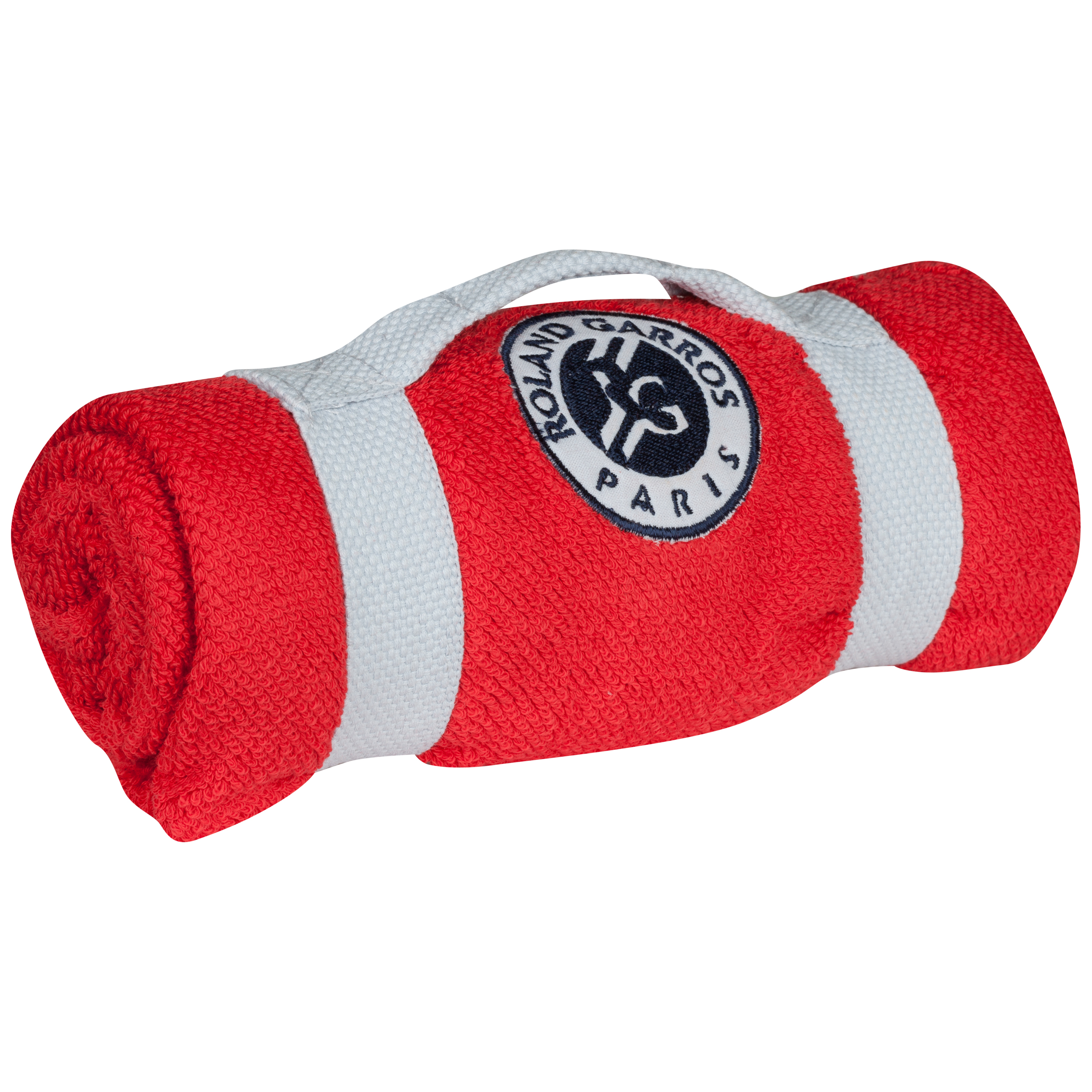 Roland-Garros Towel With Carry Strap - Red