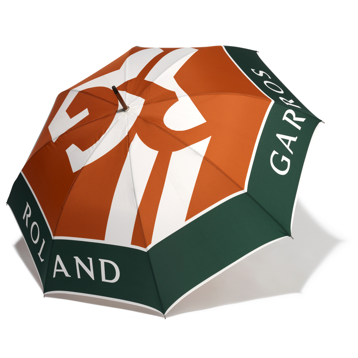 Roland-Garros Large Logo Umbrella - 93cm