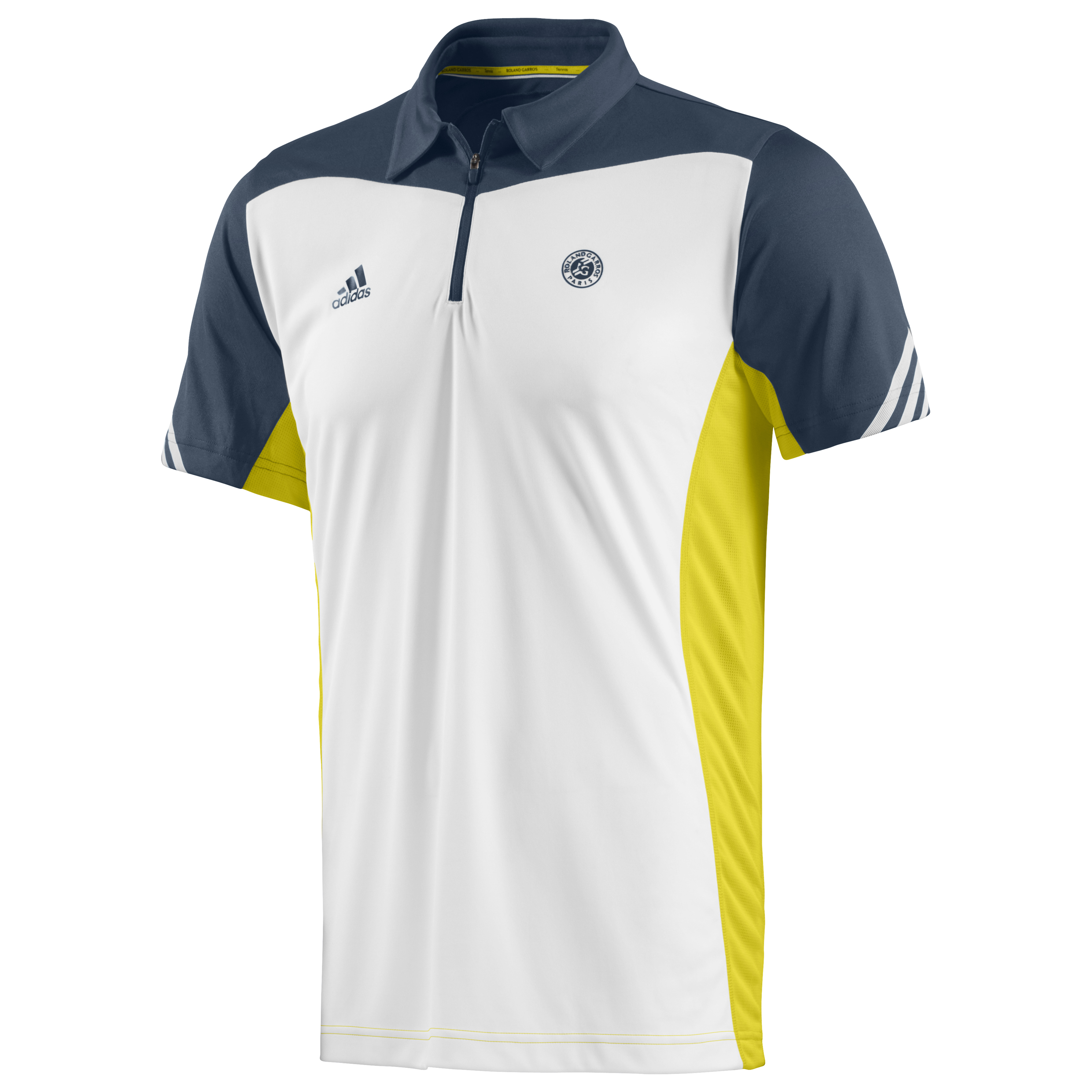 Roland-Garros On Court Polo - Mens White
