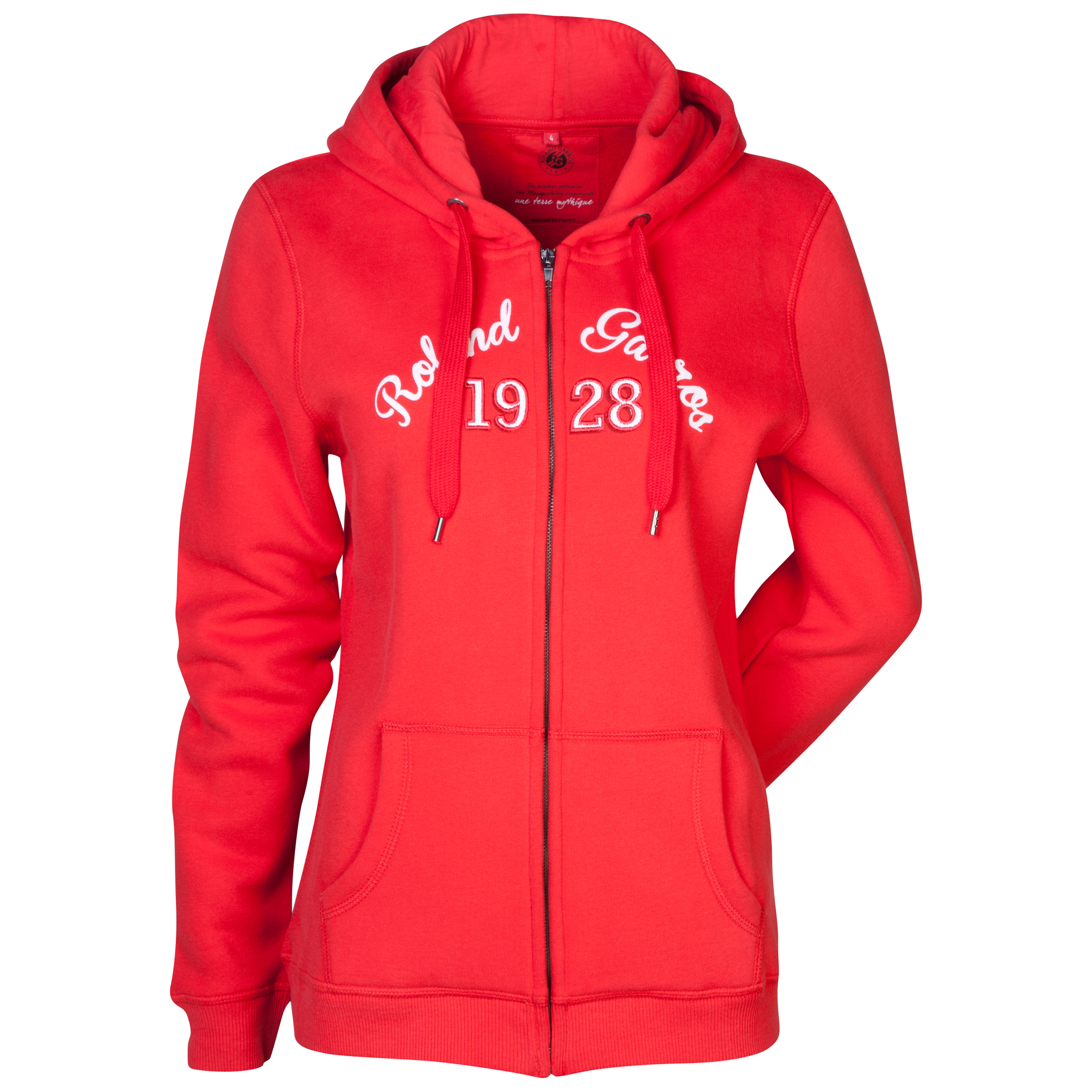 Roland-Garros Barra Hooded Zip Top