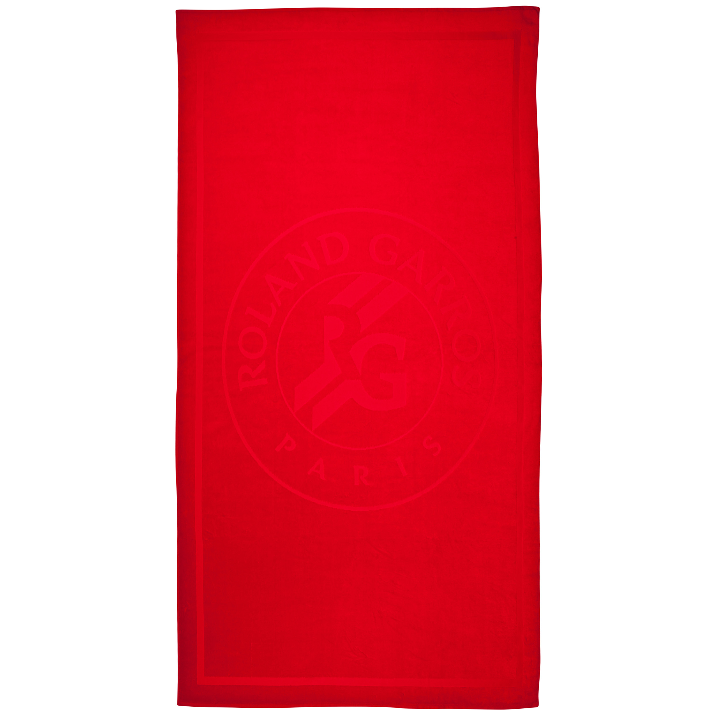 Roland-Garros Large Beach Towel Red