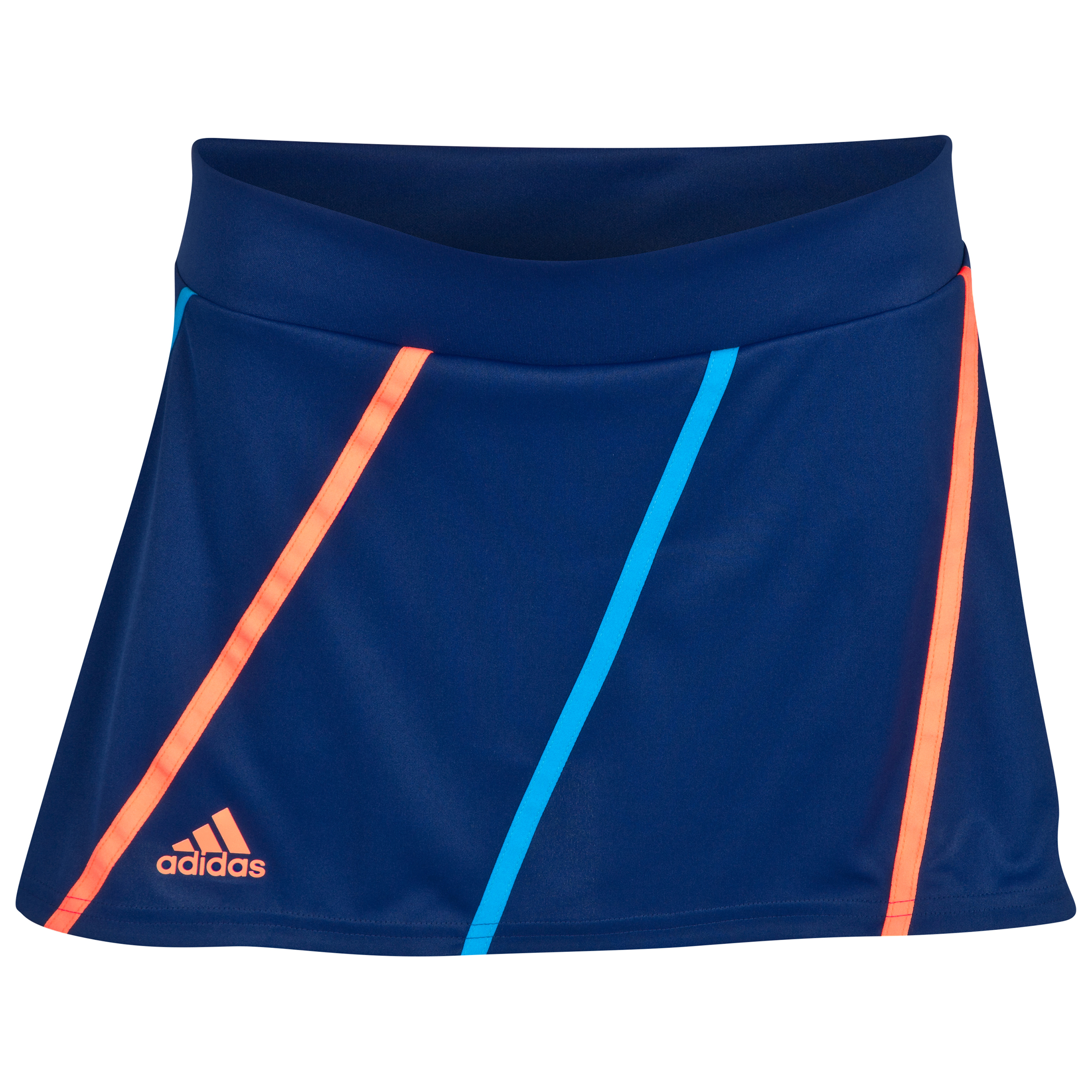 Roland-Garros Adidas On Court Skirt - Womens Navy