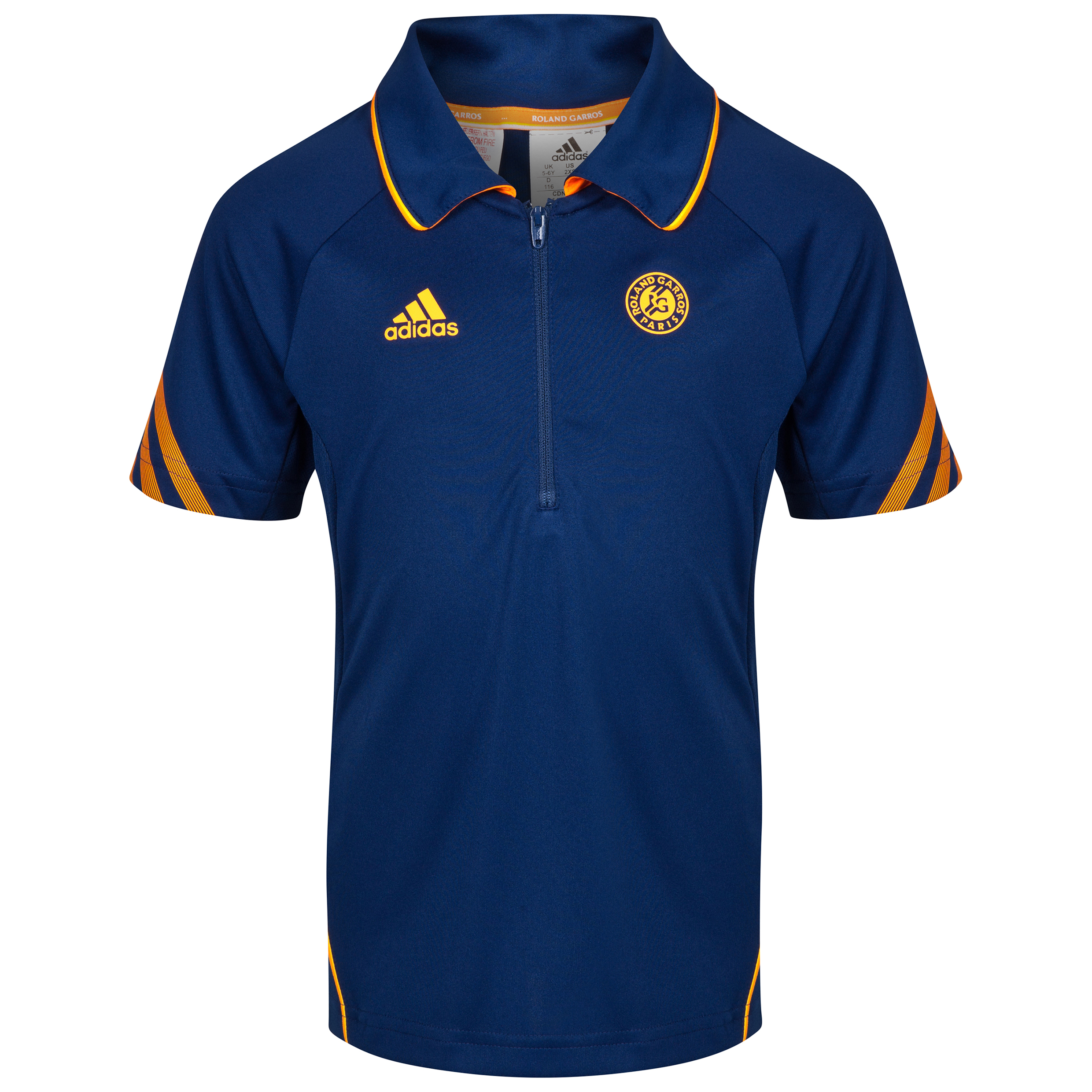 Roland-Garros On Court Polo - Boys Navy