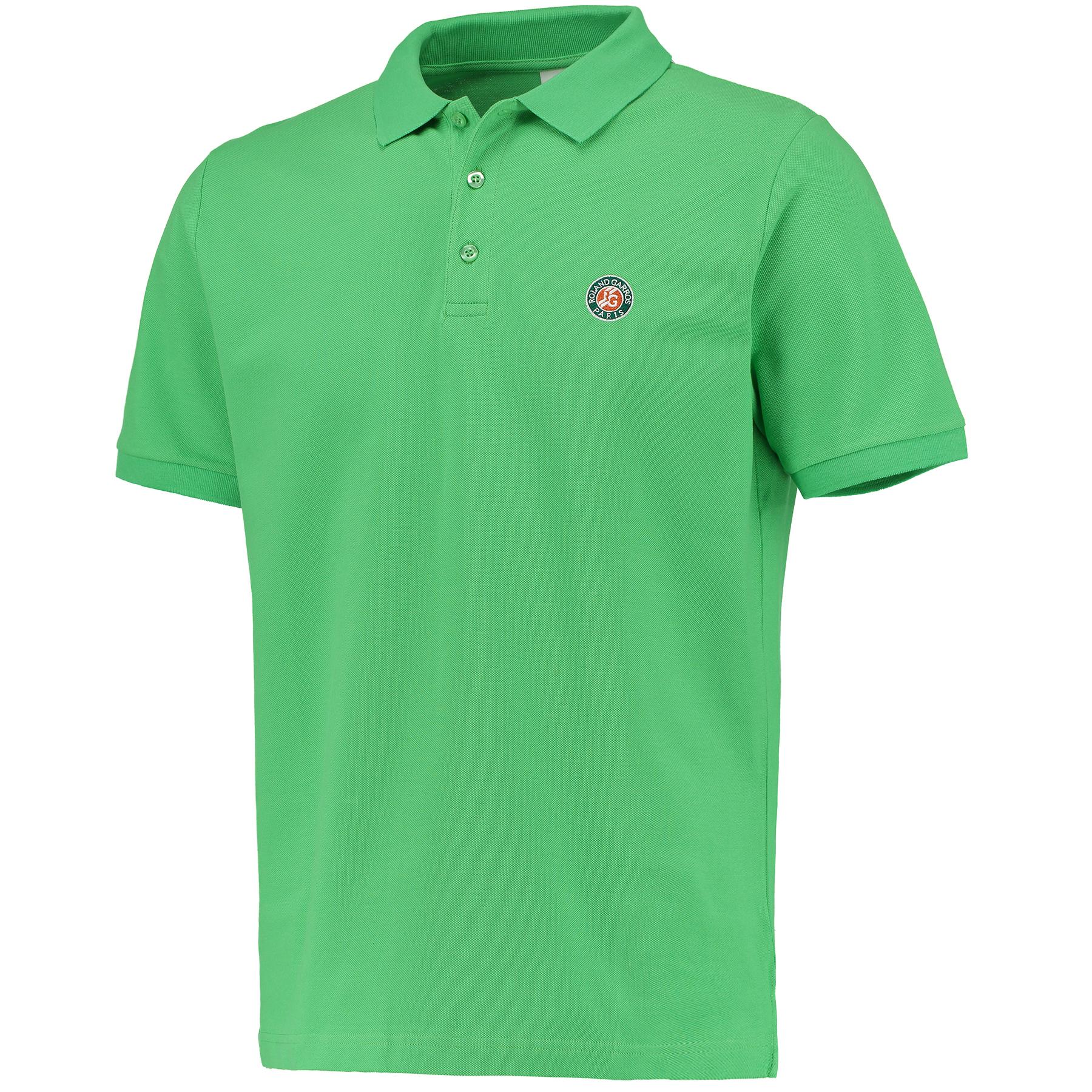 Roland-Garros Island Polo - Mens Green