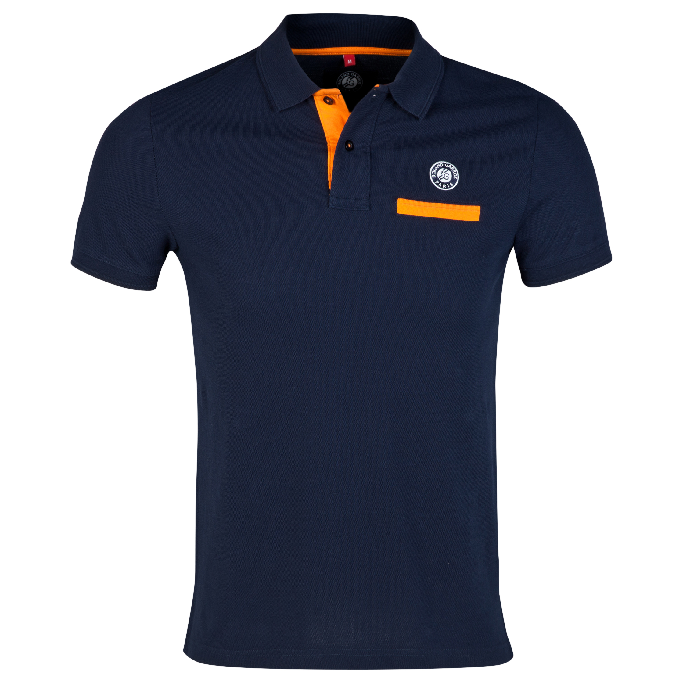 Roland-Garros Angatuba Contrast Polo Navy