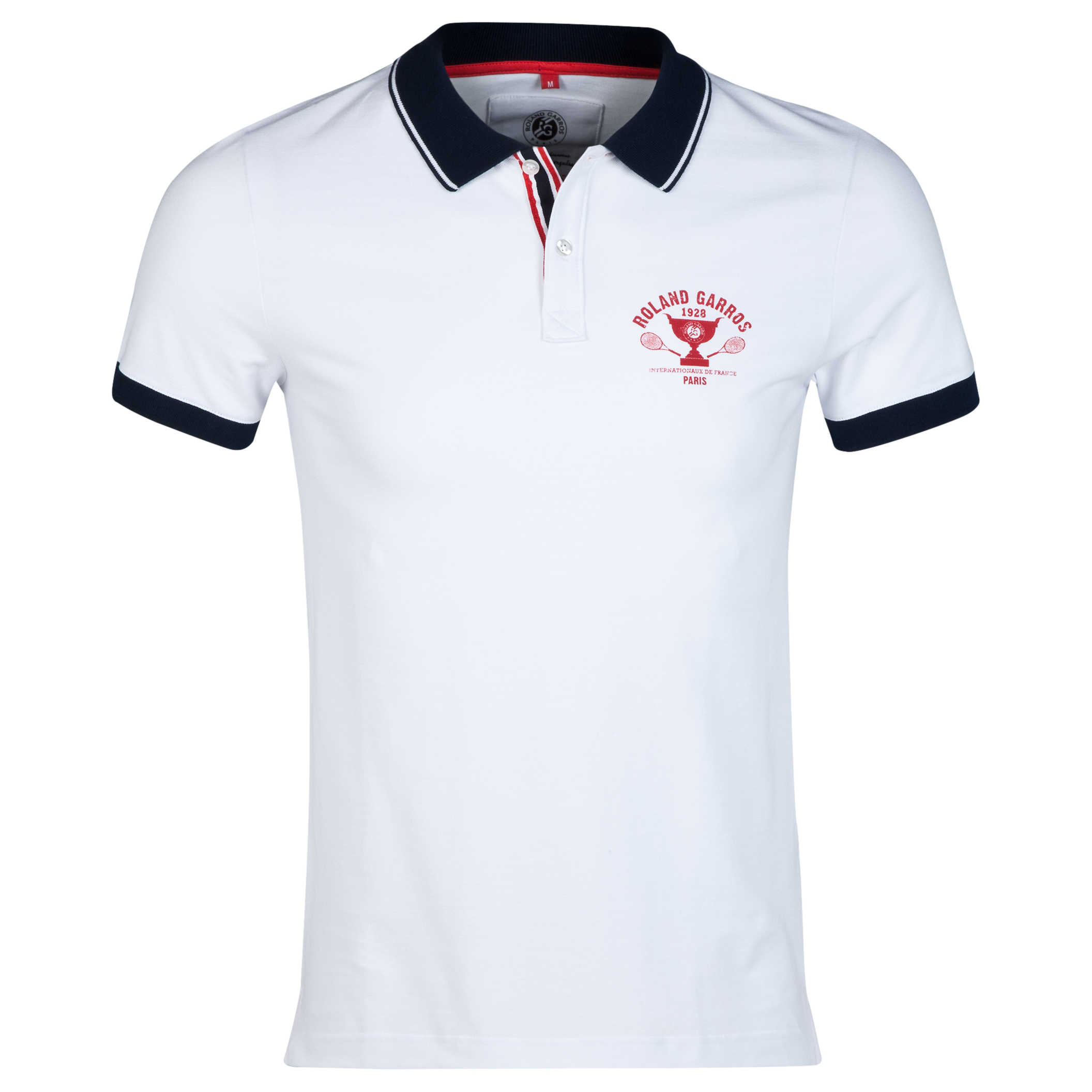 Roland-Garros Analandia Retro Polo White