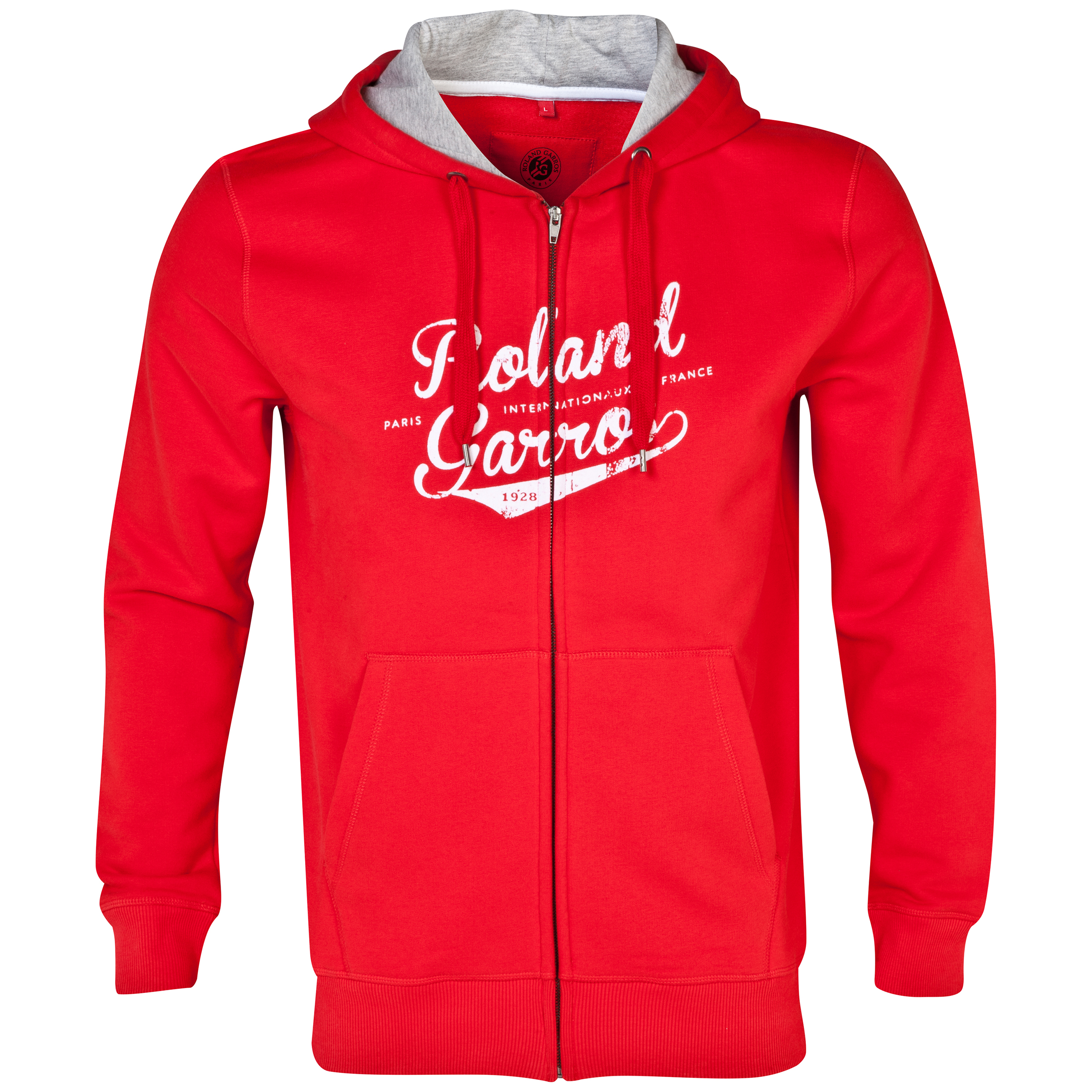 Roland-Garros Arealva Zip Hoody Red