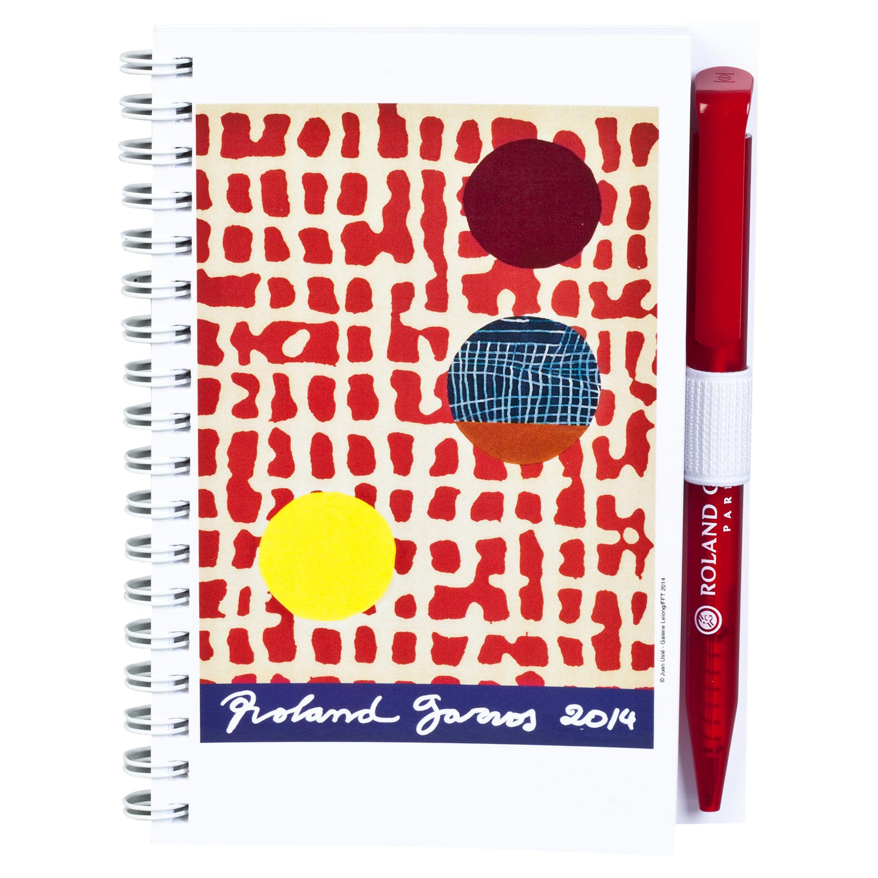 Roland-Garros Poster 2014 Notebook