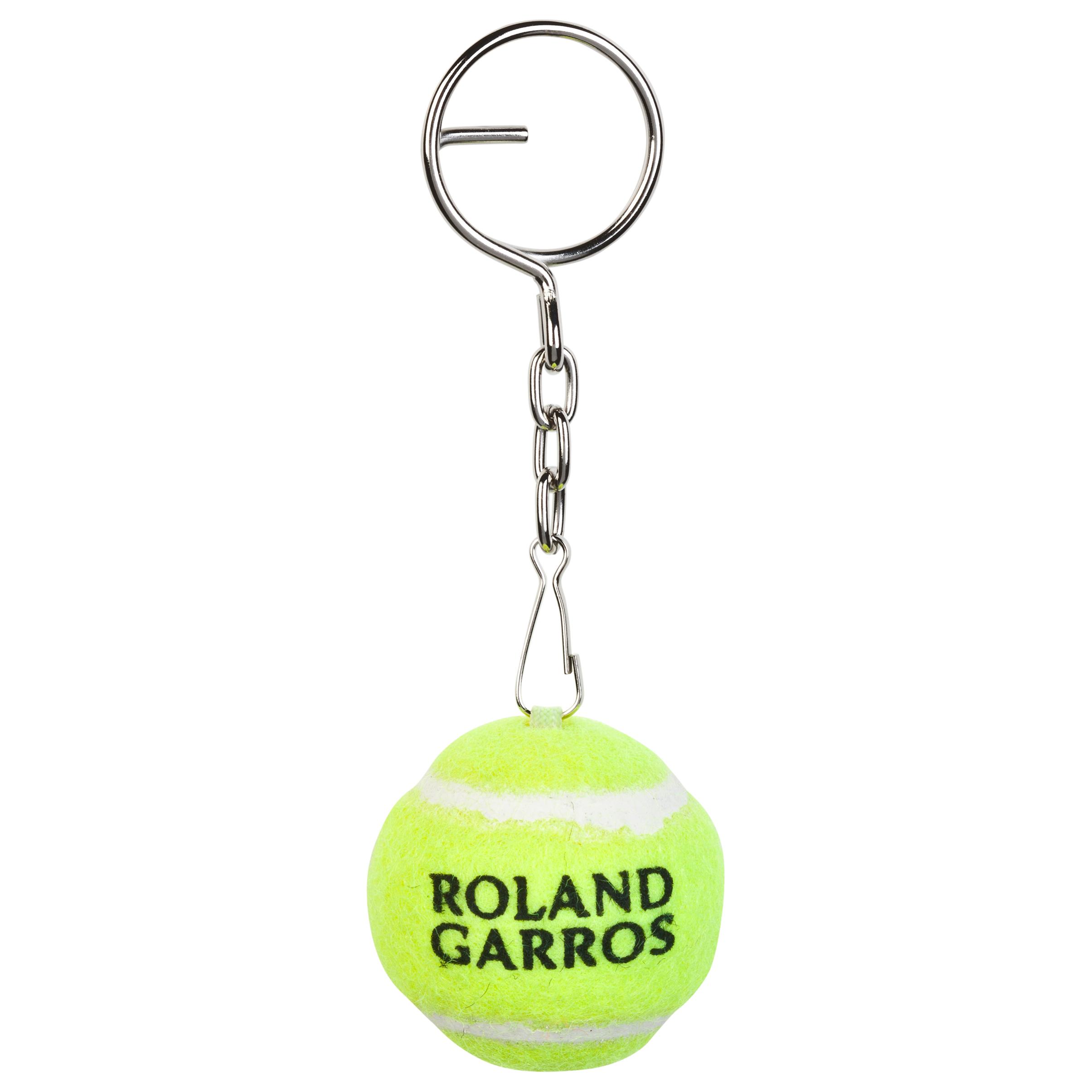 Roland-Garros Babolat Ball Keyring Yellow