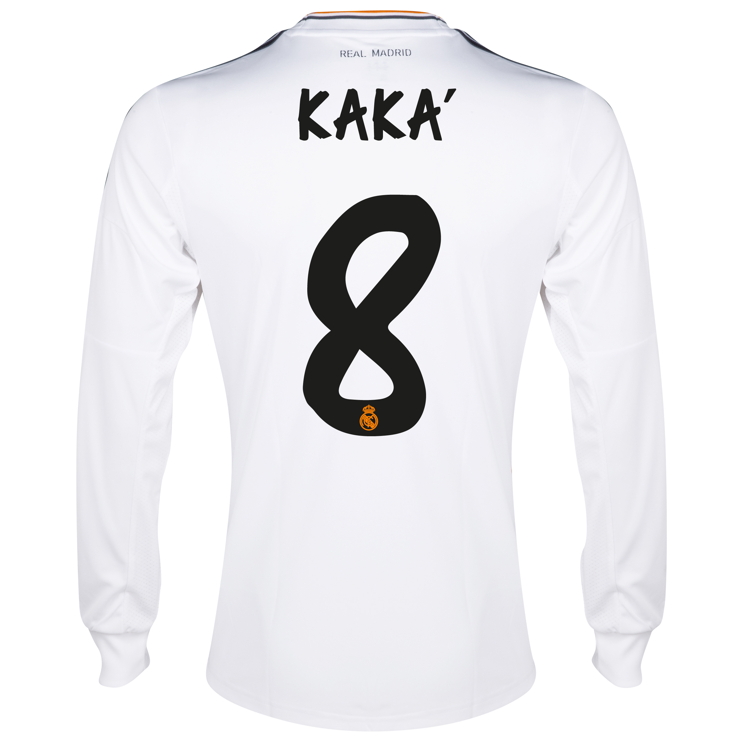 Real Madrid Home Shirt 2013/14 - Long Sleeve with Kaká 8 printing