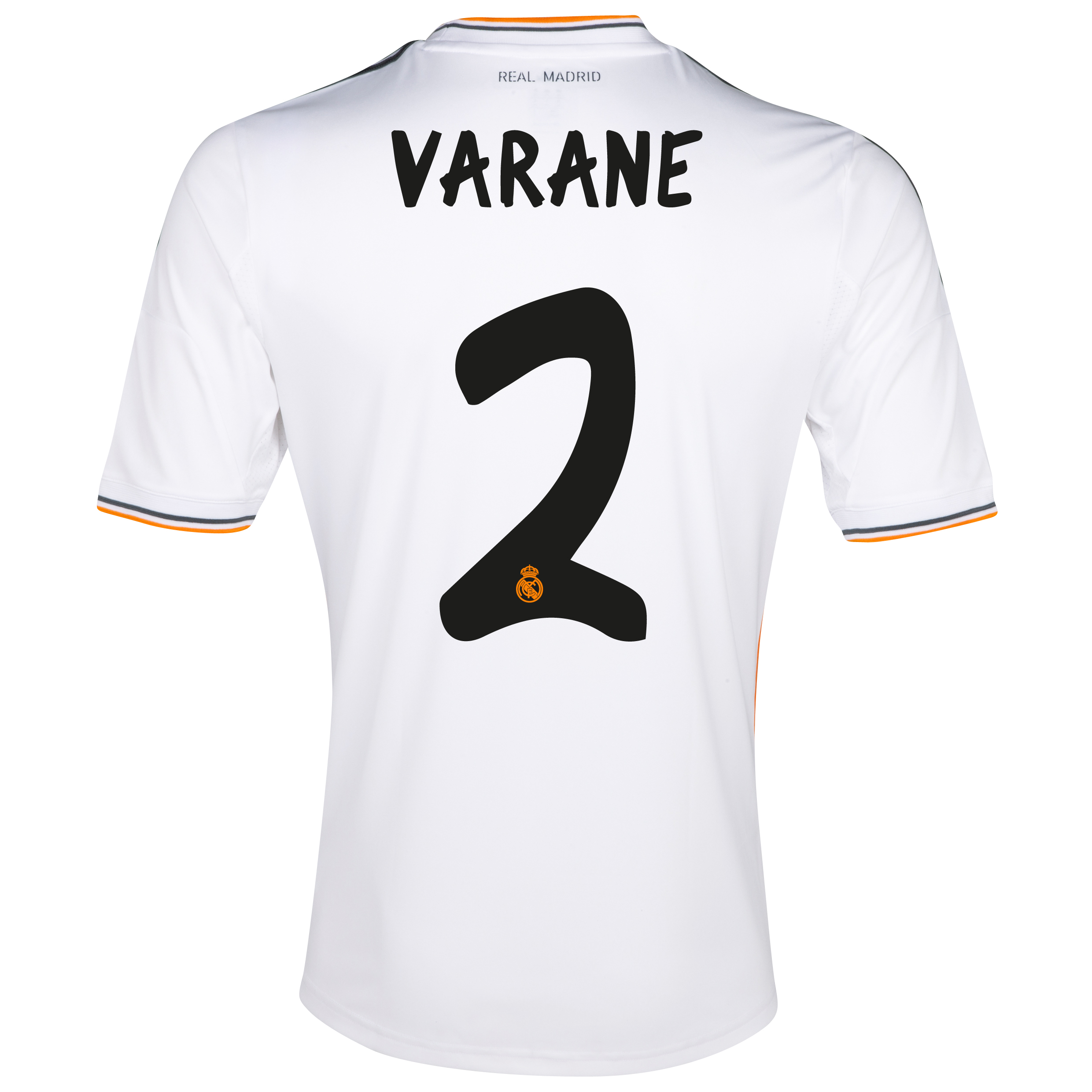 Real Madrid Home Shirt 2013/14 - Kids with Varane 2 printing