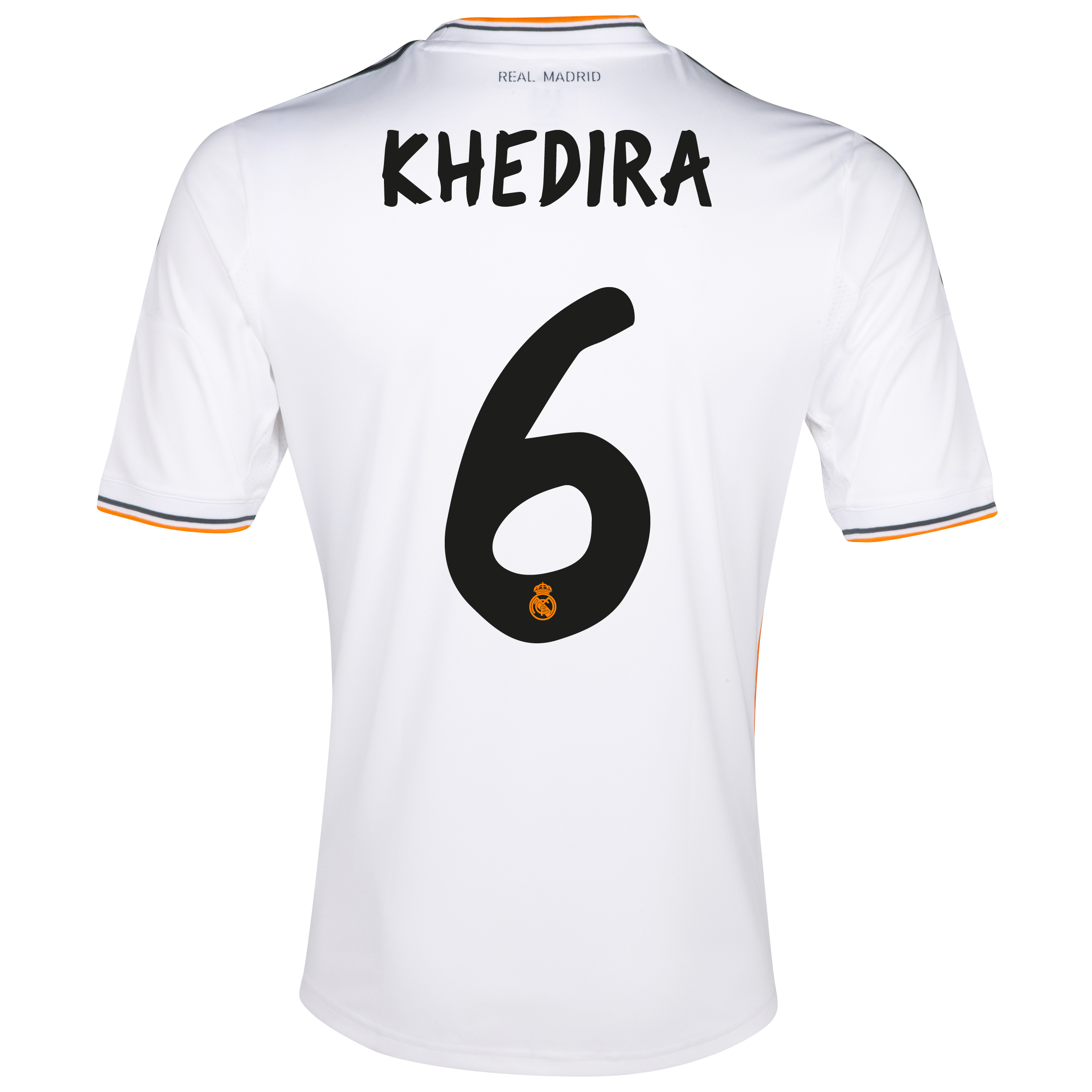 Real Madrid Home Shirt 2013/14 - Kids with Khedira 6 printing