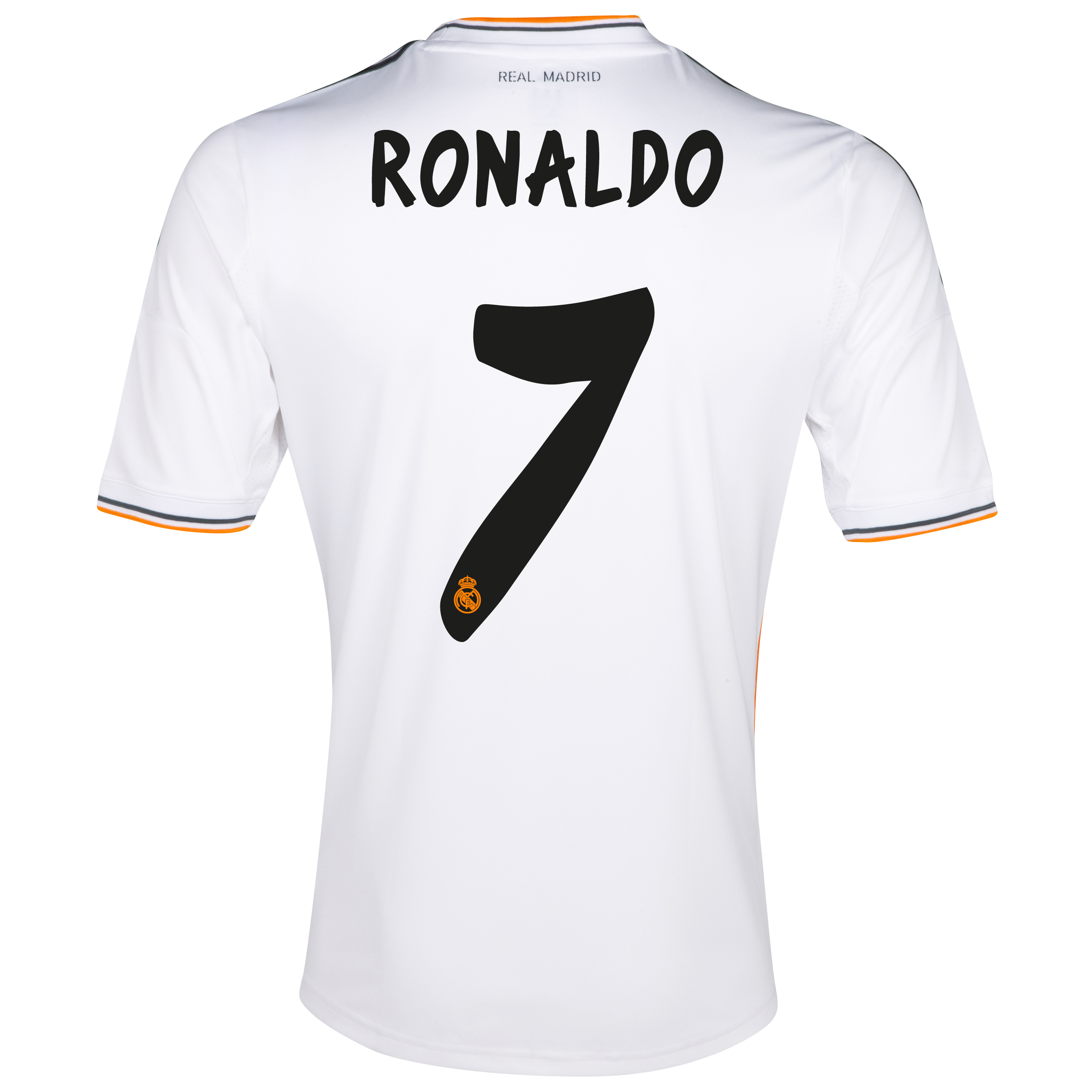 Real Madrid Home Shirt 2013/14 - Kids with Ronaldo 7 printing