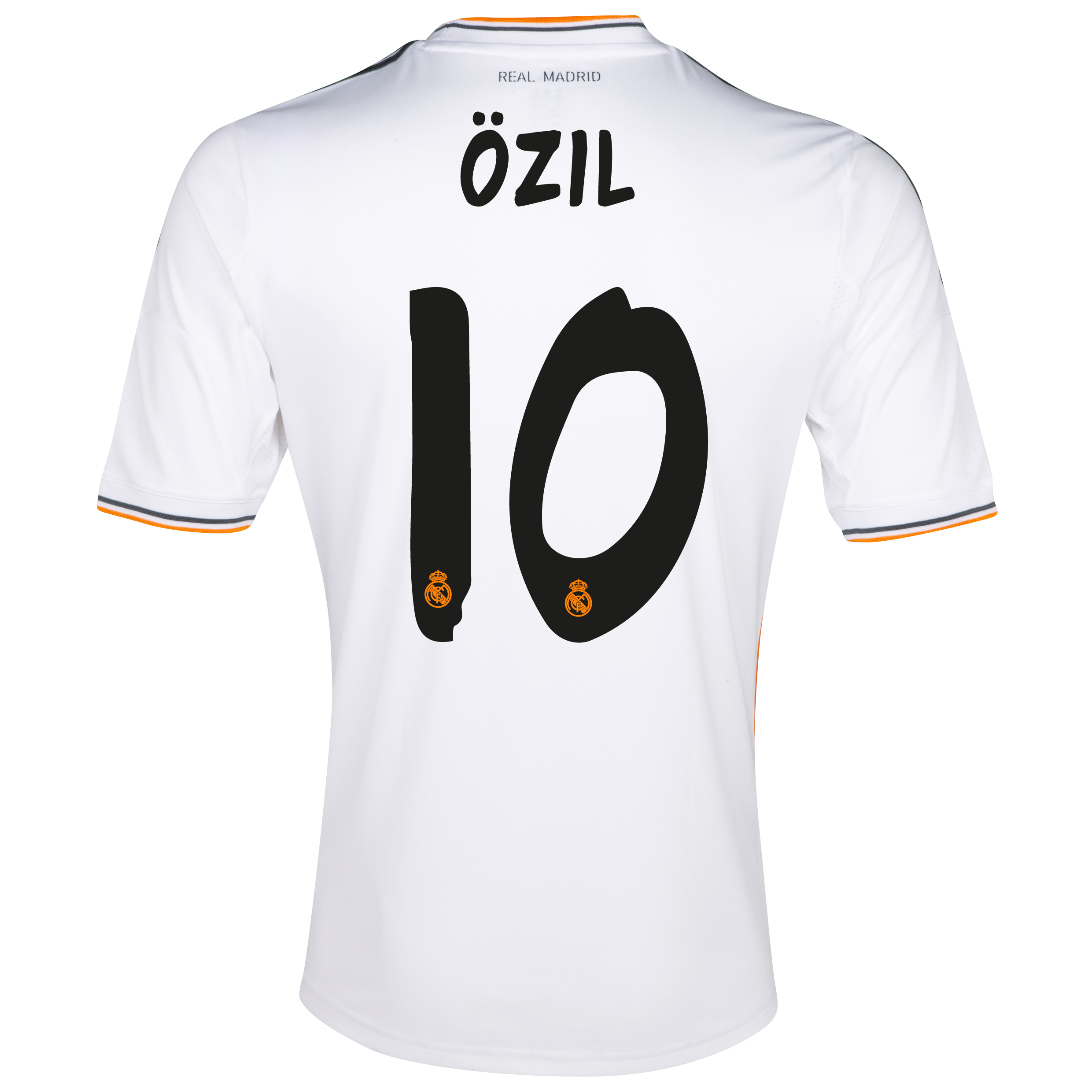 Real Madrid Home Shirt 2013/14 - Kids with Özil 10 printing
