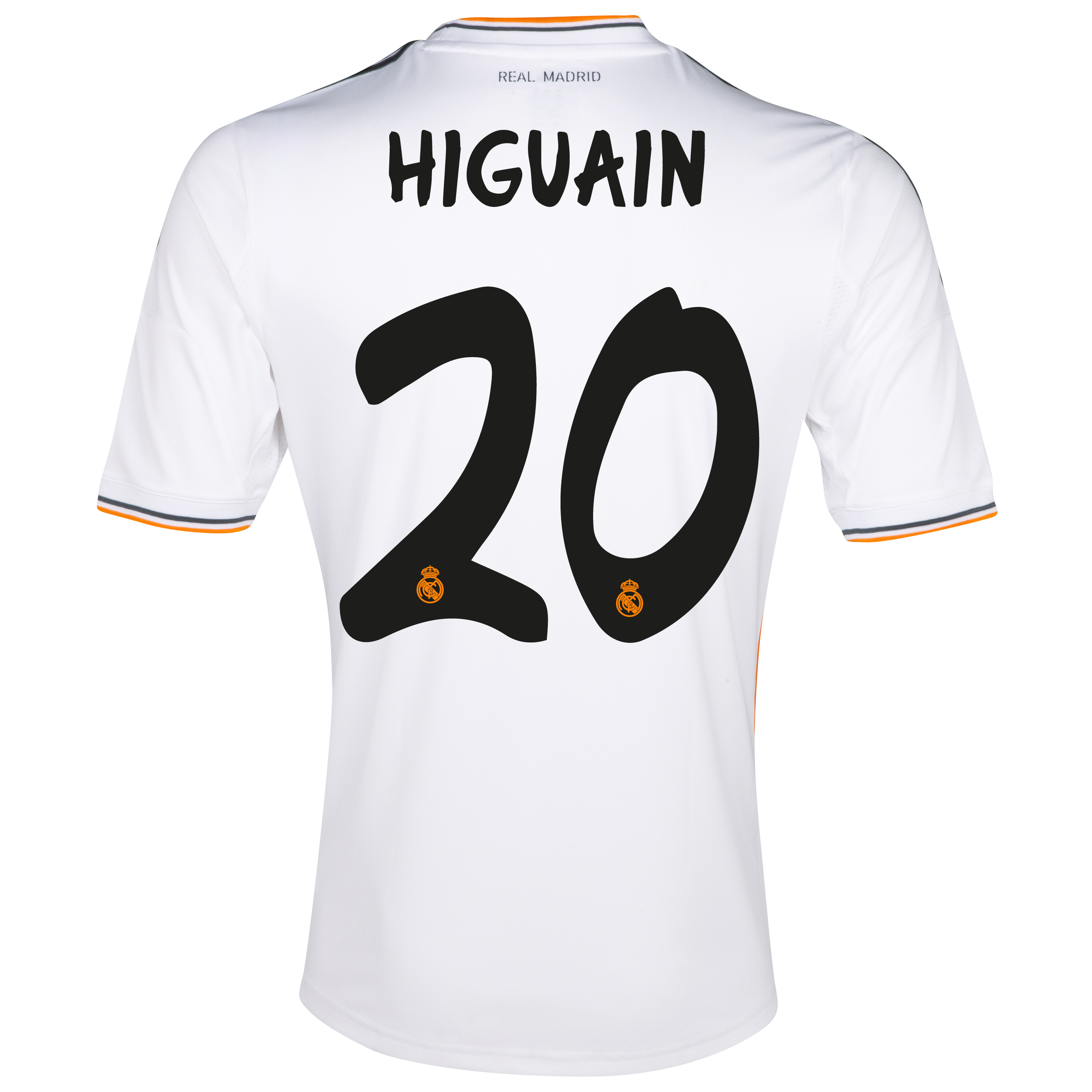 Real Madrid Home Shirt 2013/14 - Kids with Higuaín 20 printing