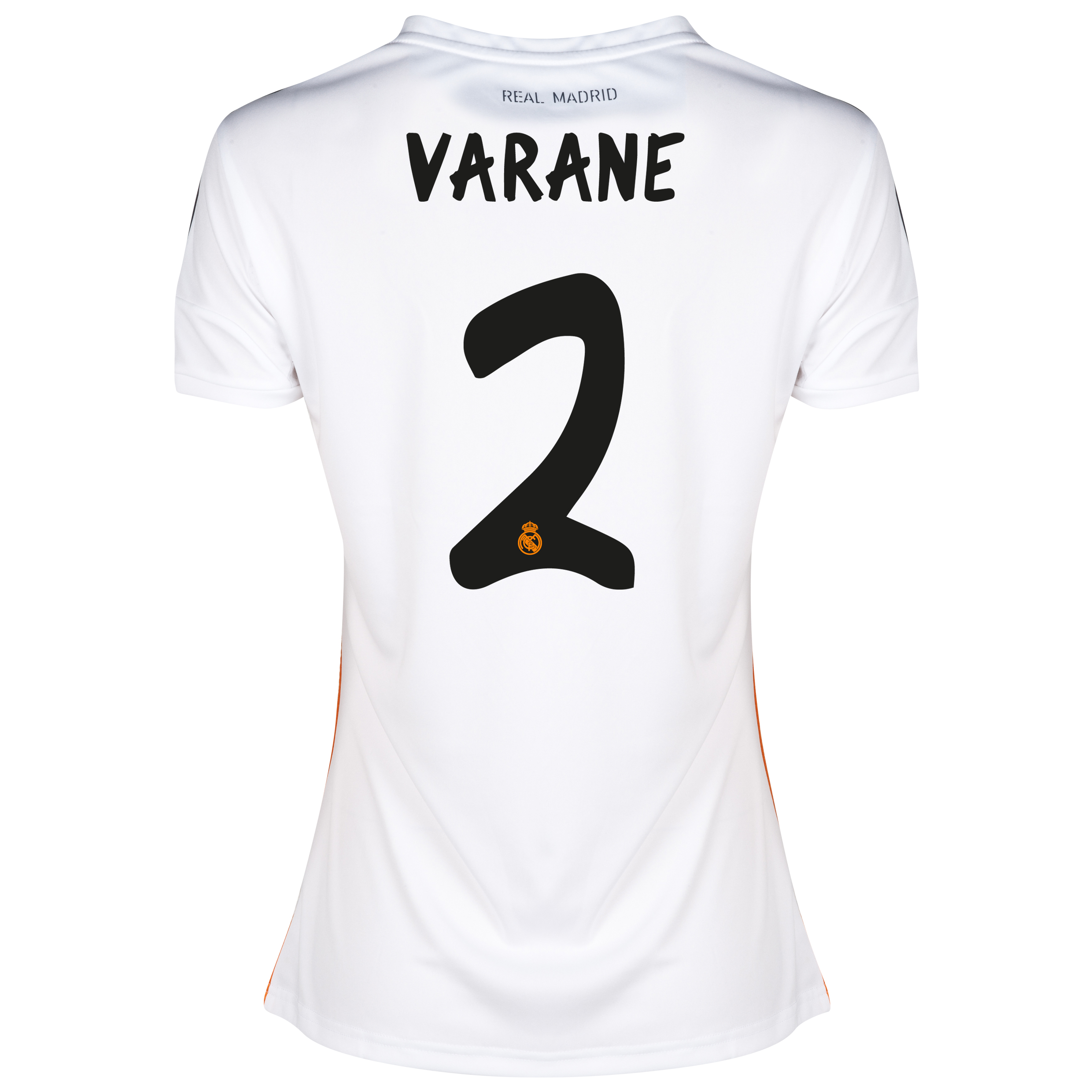 Real Madrid Home Shirt 2013/14 - Womens with Varane 2 printing