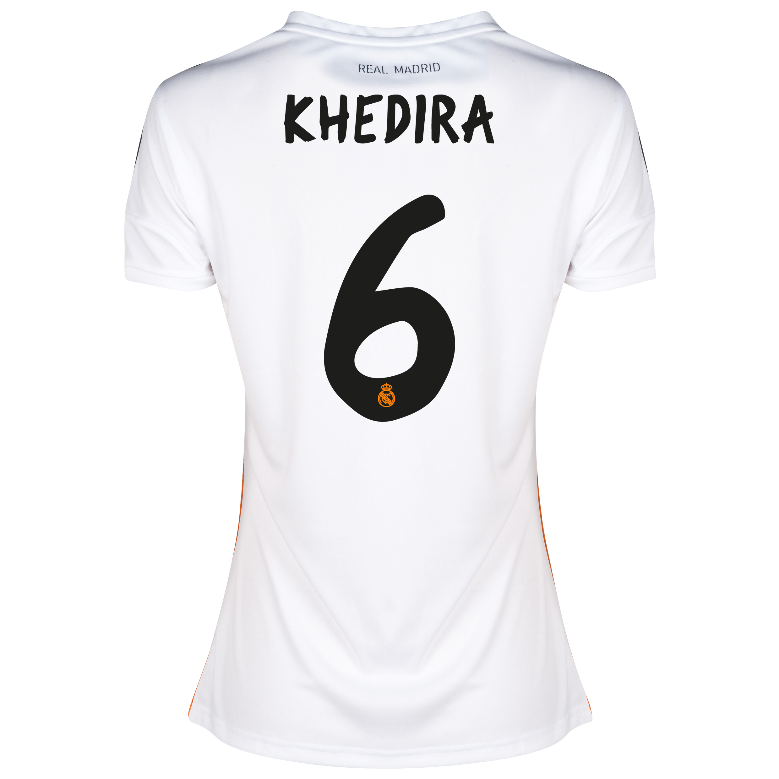 Real Madrid Home Shirt 2013/14 - Womens with Khedira 6 printing