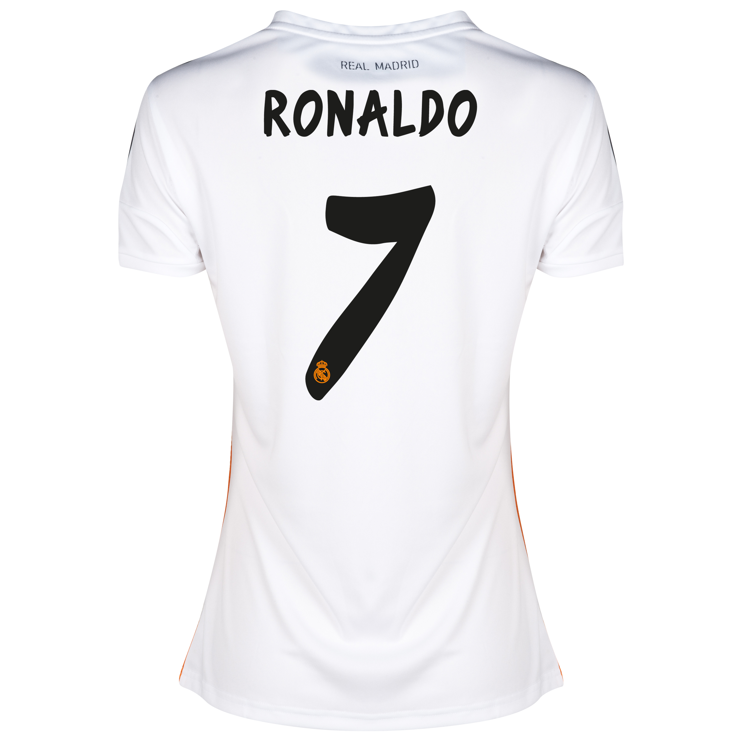 Real Madrid Home Shirt 2013/14 - Womens with Ronaldo 7 printing