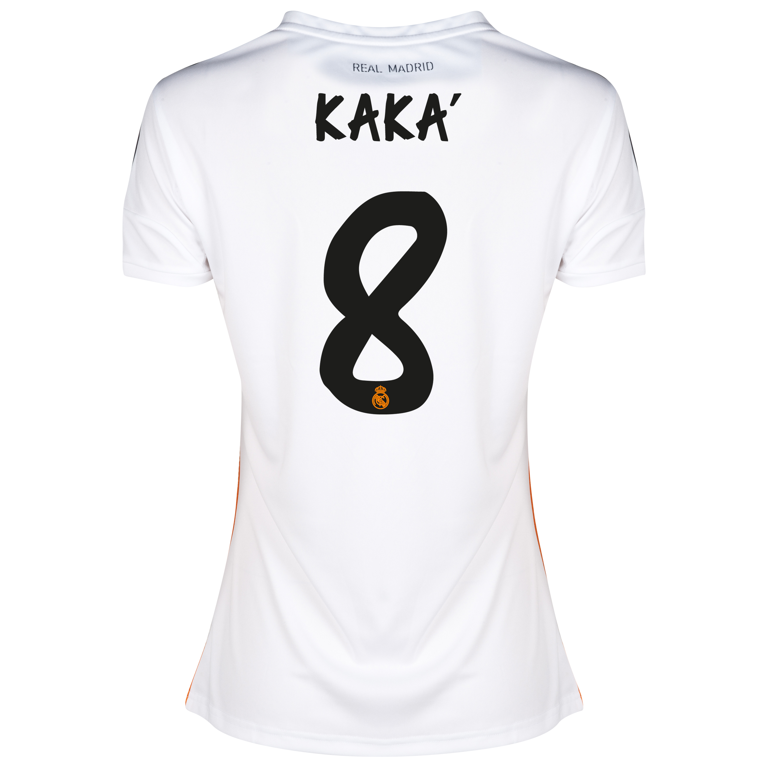 Real Madrid Home Shirt 2013/14 - Womens with Kaká 8 printing