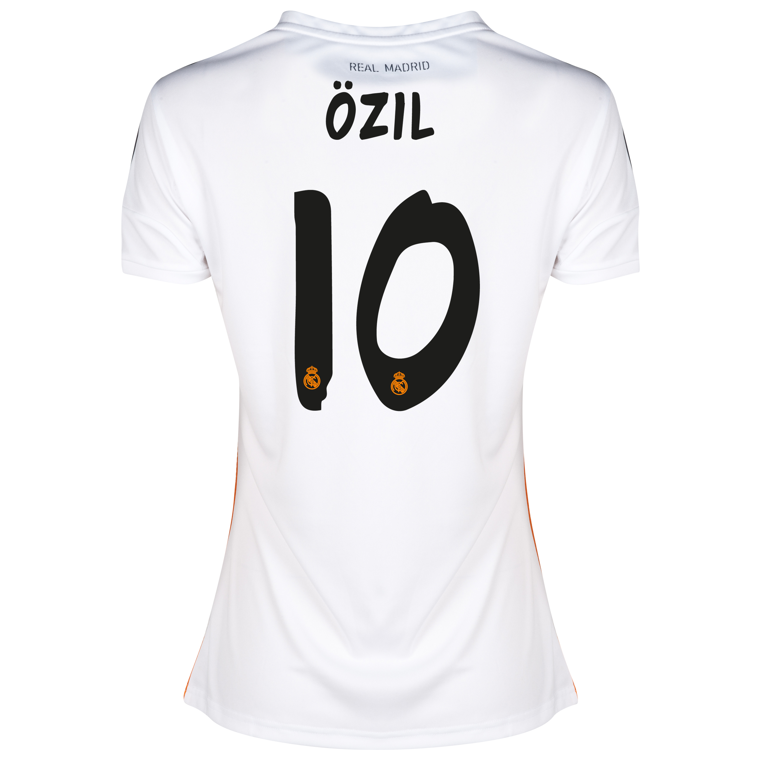 Real Madrid Home Shirt 2013/14 - Womens with Özil 10 printing